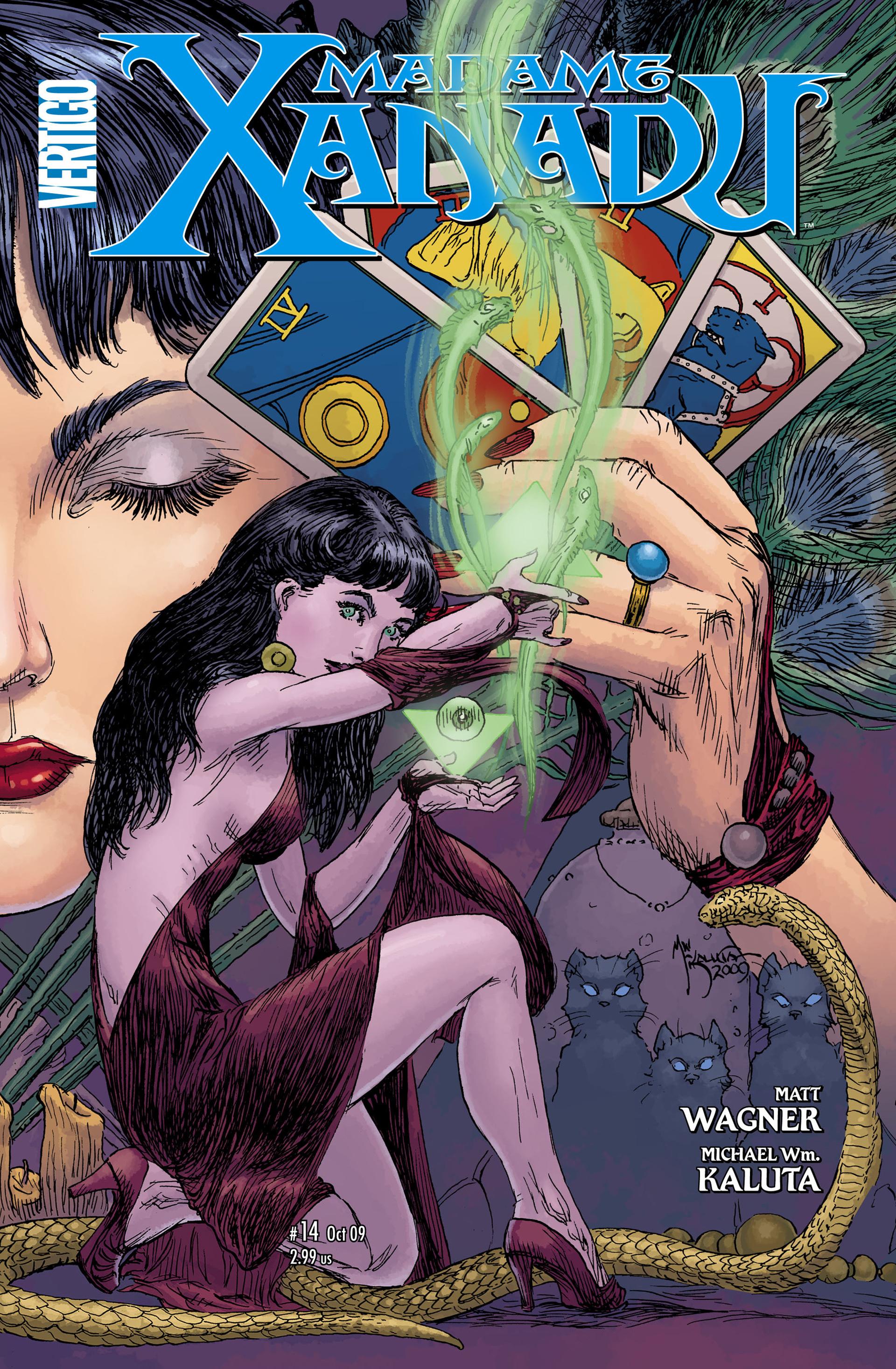 Madame Xanadu issue 14 - Page 1