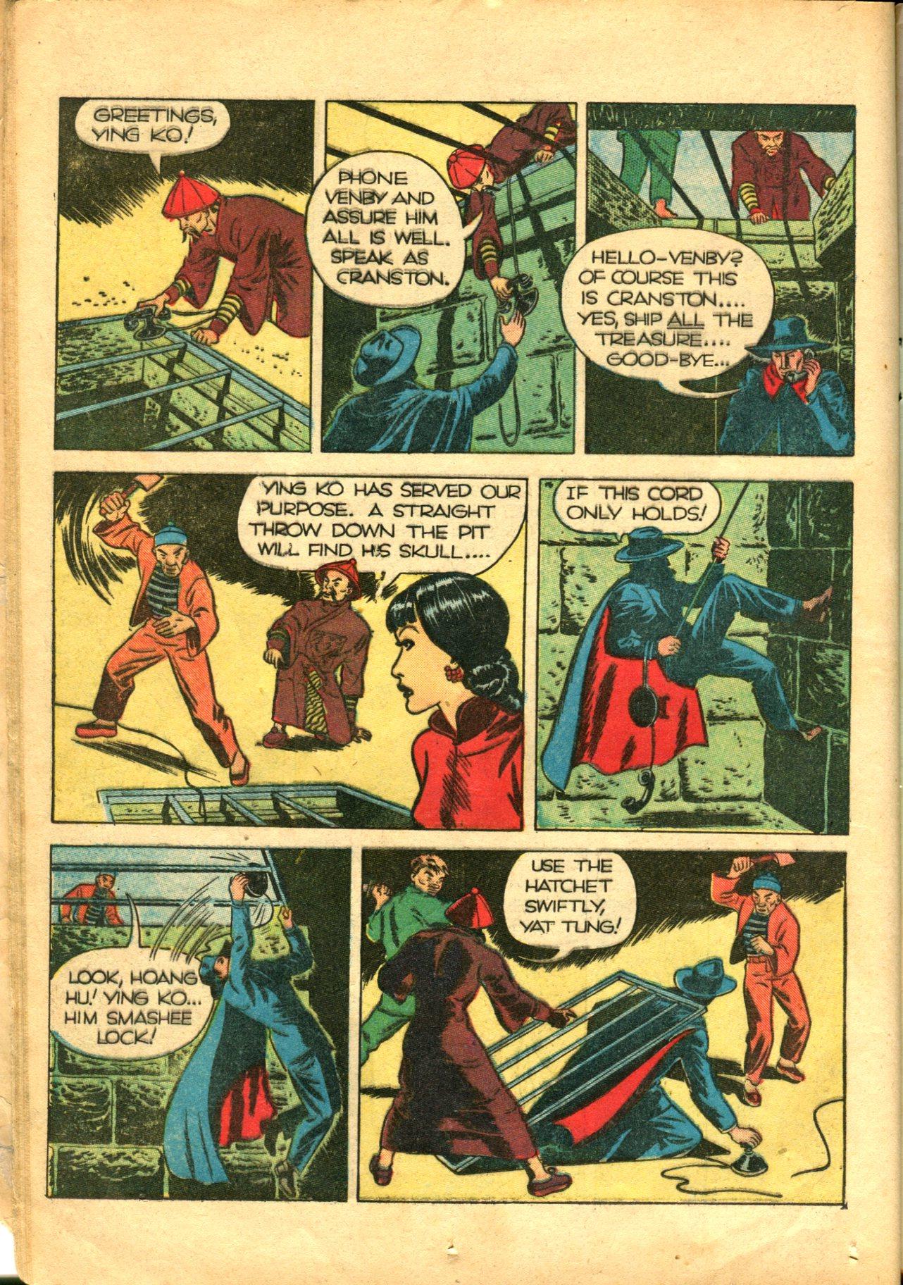 Read online Shadow Comics comic -  Issue #10 - 22