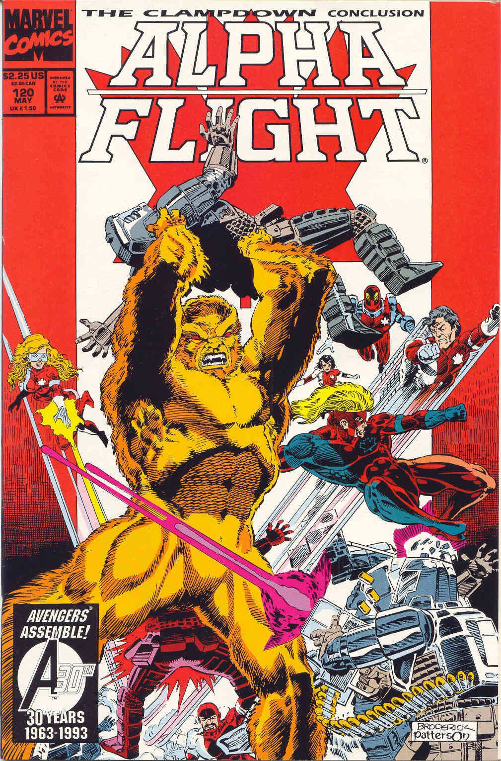 Read online Alpha Flight (1983) comic -  Issue #120 - 1