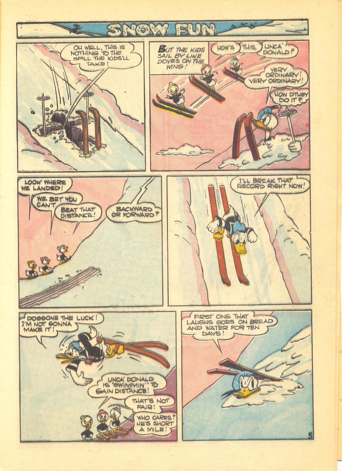 Walt Disney's Comics and Stories issue 40 - Page 7
