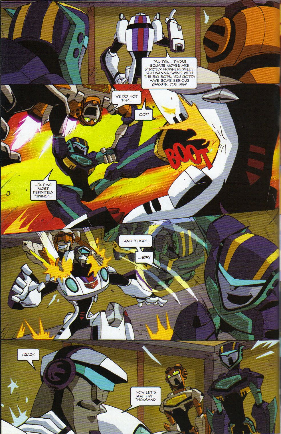 Read online Transformers Animated: The Arrival comic -  Issue #6 - 16