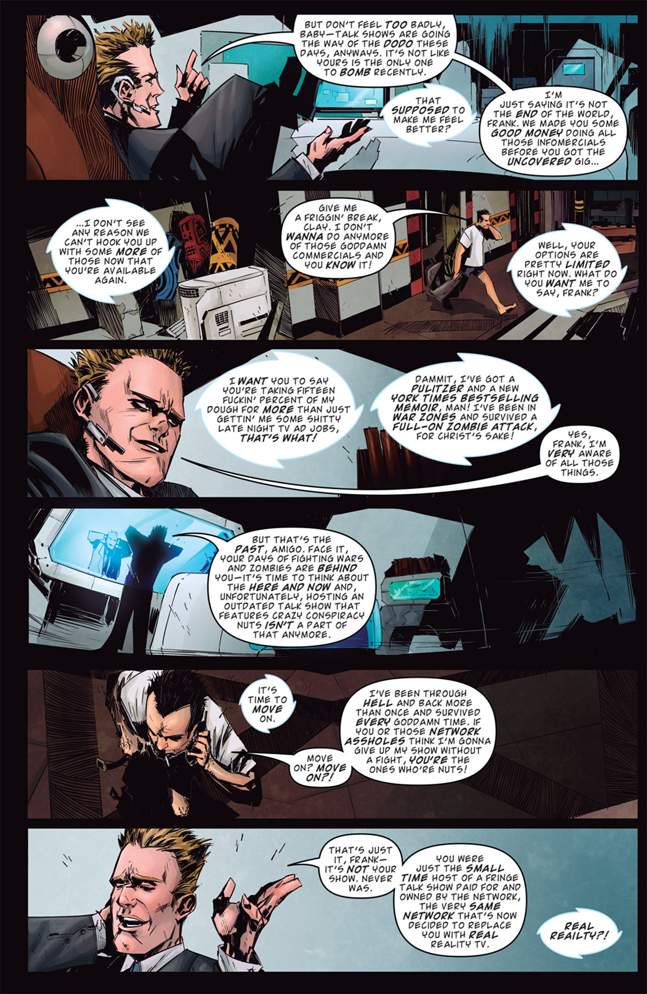 Read online Dead Rising: Road to Fortune comic -  Issue # TPB - 22