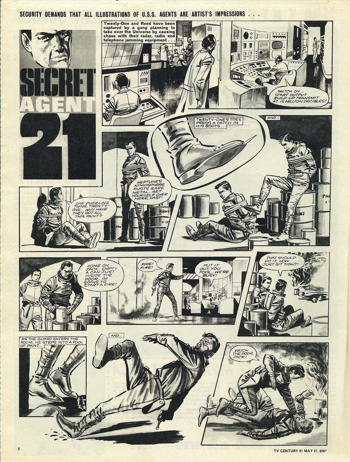 TV Century 21 (TV 21) 123 Page 2