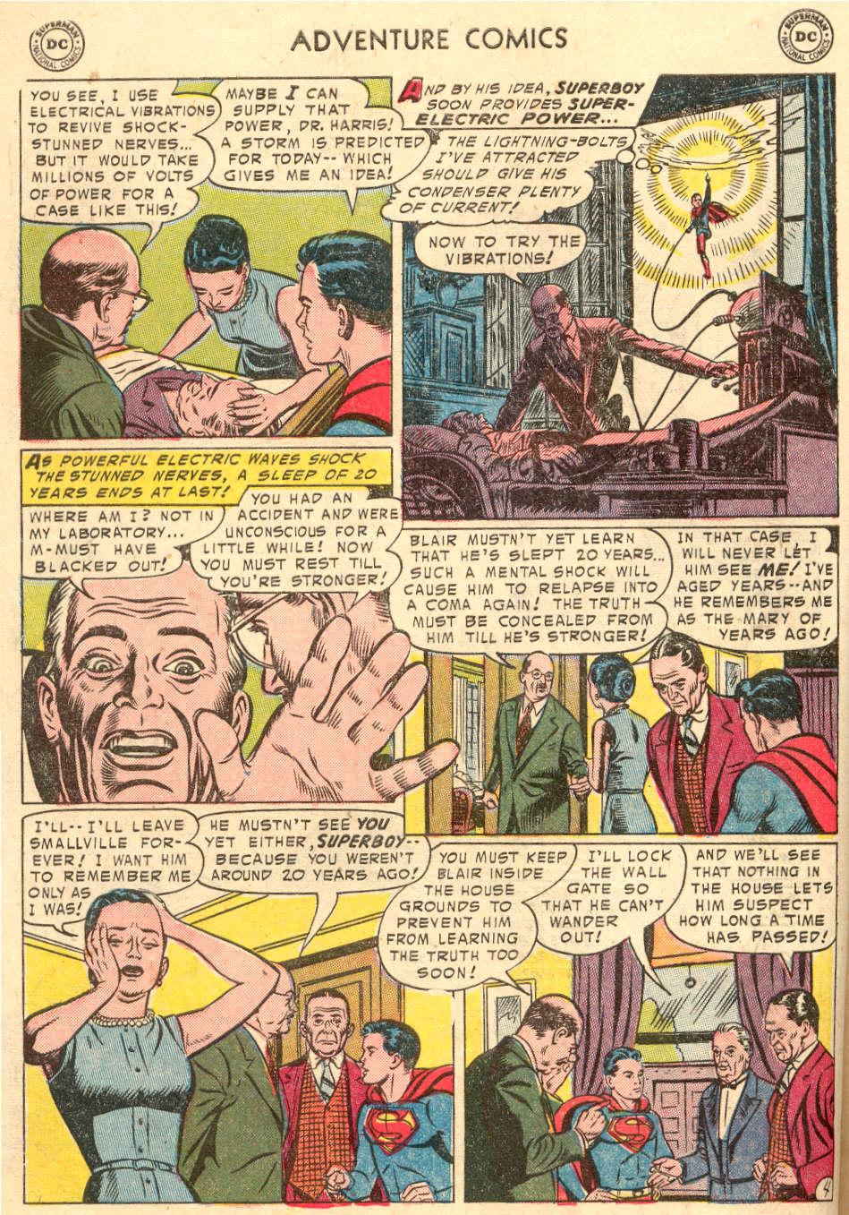 Read online Adventure Comics (1938) comic -  Issue #208 - 6