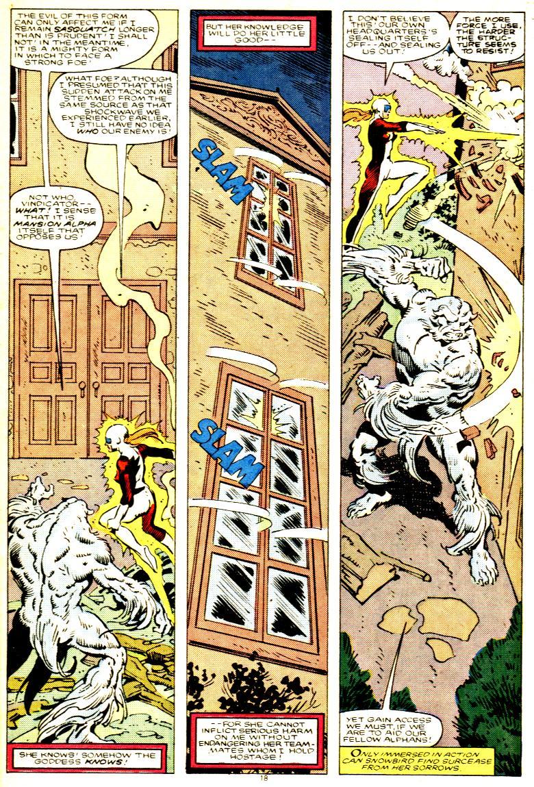 Read online Alpha Flight (1983) comic -  Issue # _Annual 1 - 19