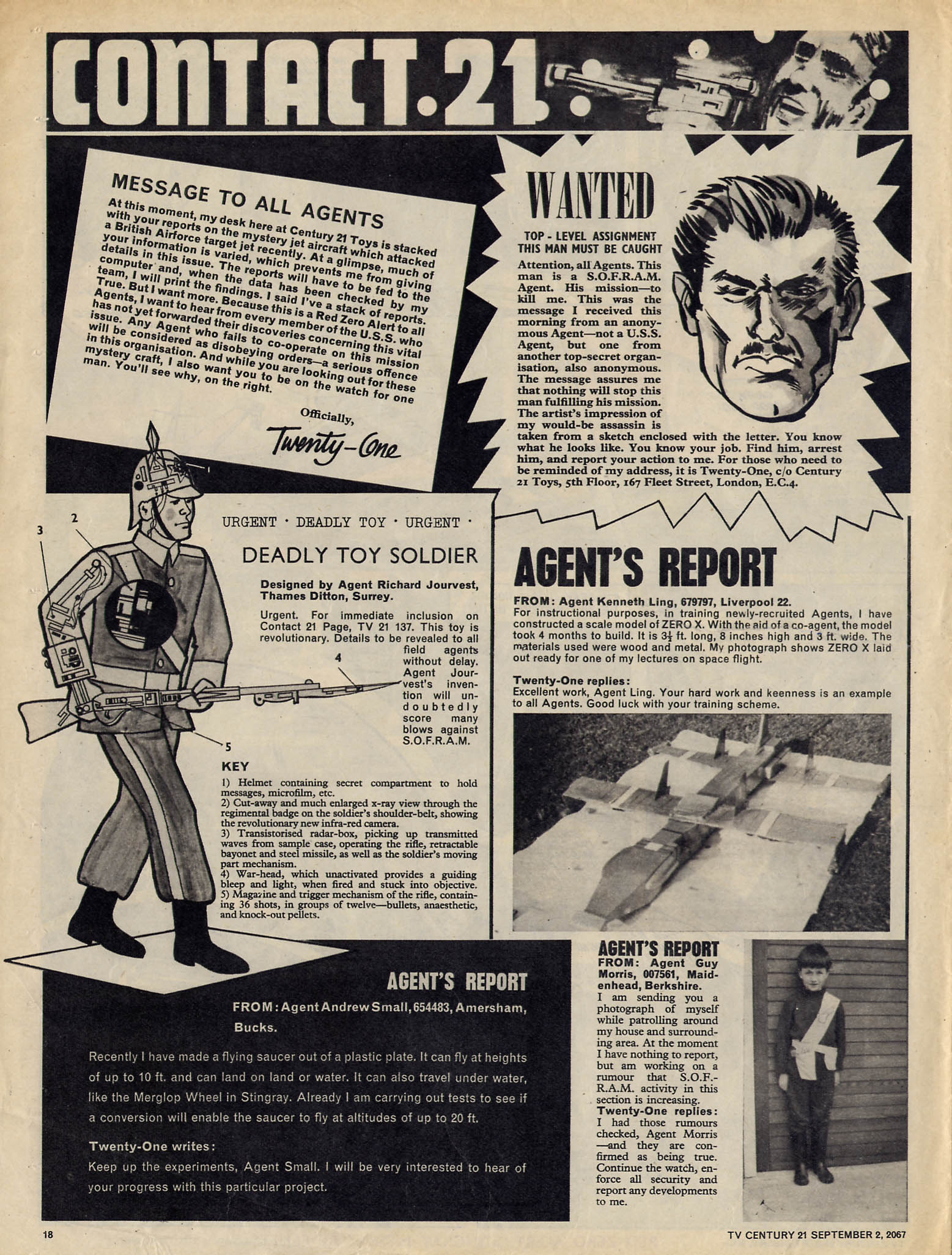 Read online TV Century 21 (TV 21) comic -  Issue #137 - 17