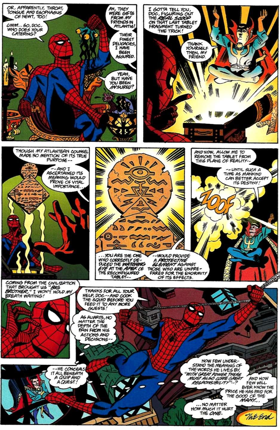 Read online Spider-Man: Lifeline comic -  Issue #3 - 24