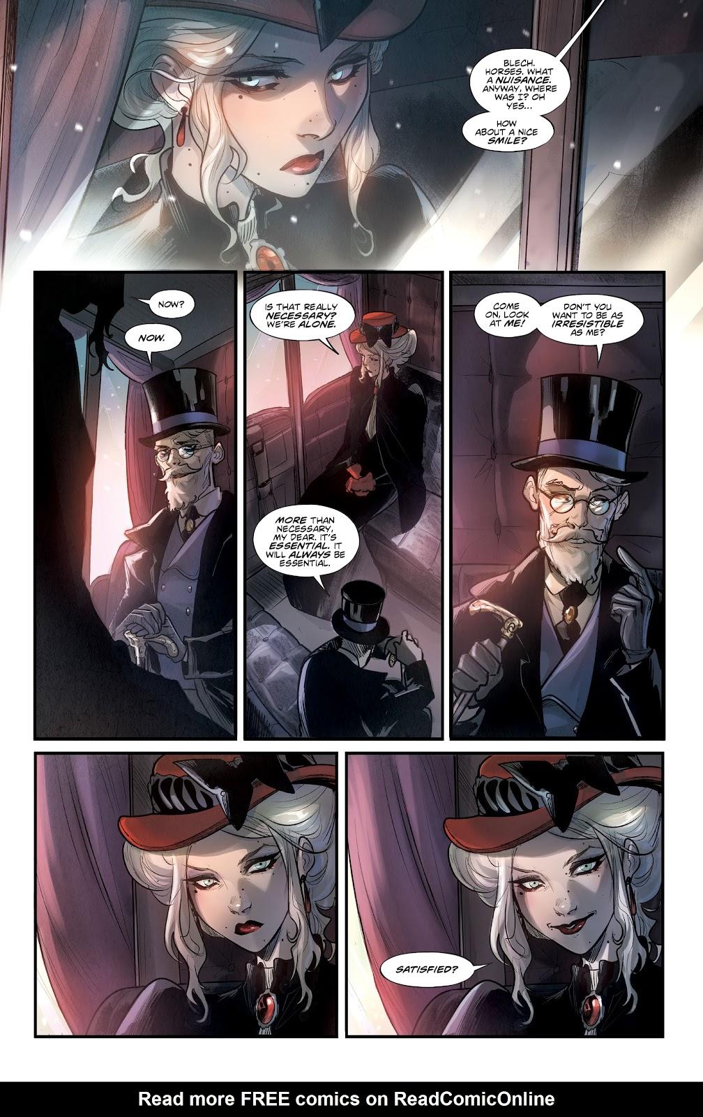 Read online Mirka Andolfo's Mercy comic -  Issue #1 - 12
