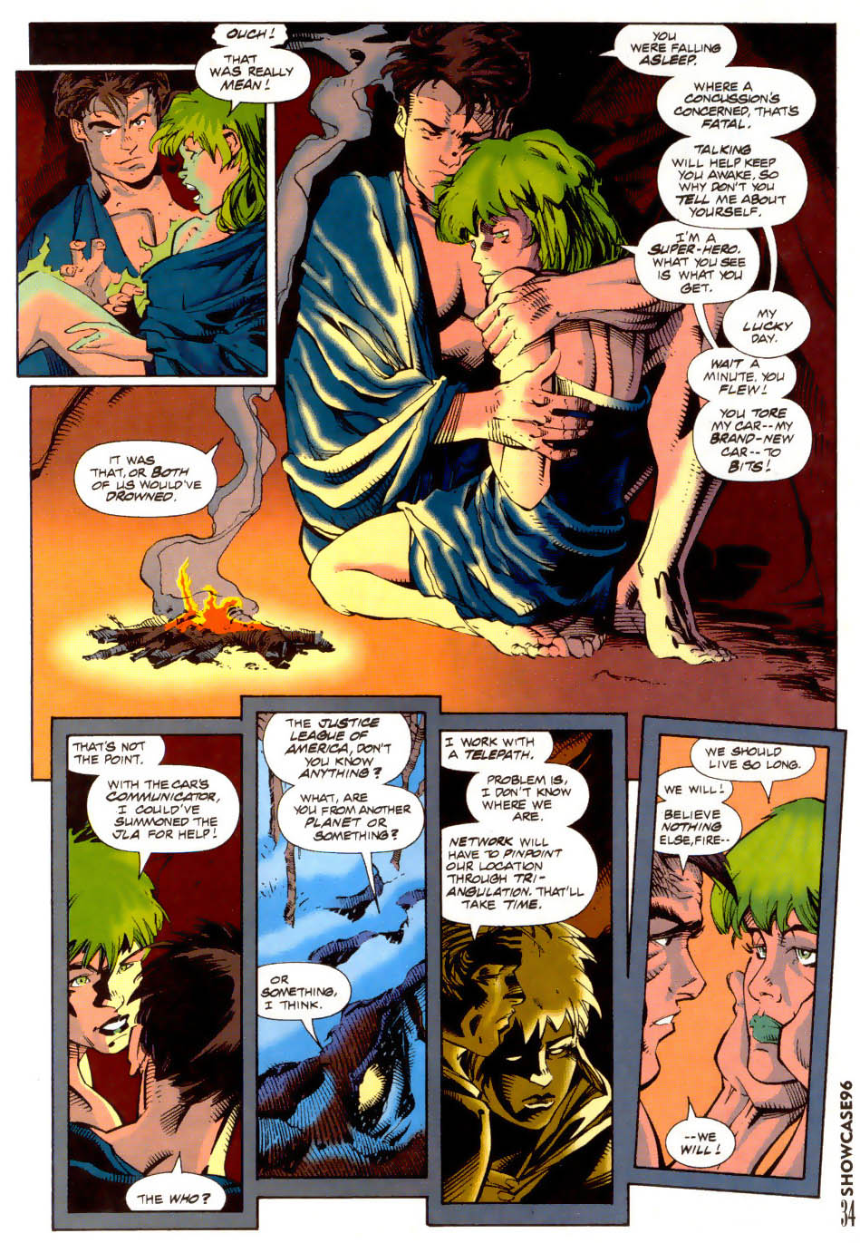 Read online Showcase '96 comic -  Issue #7 - 35