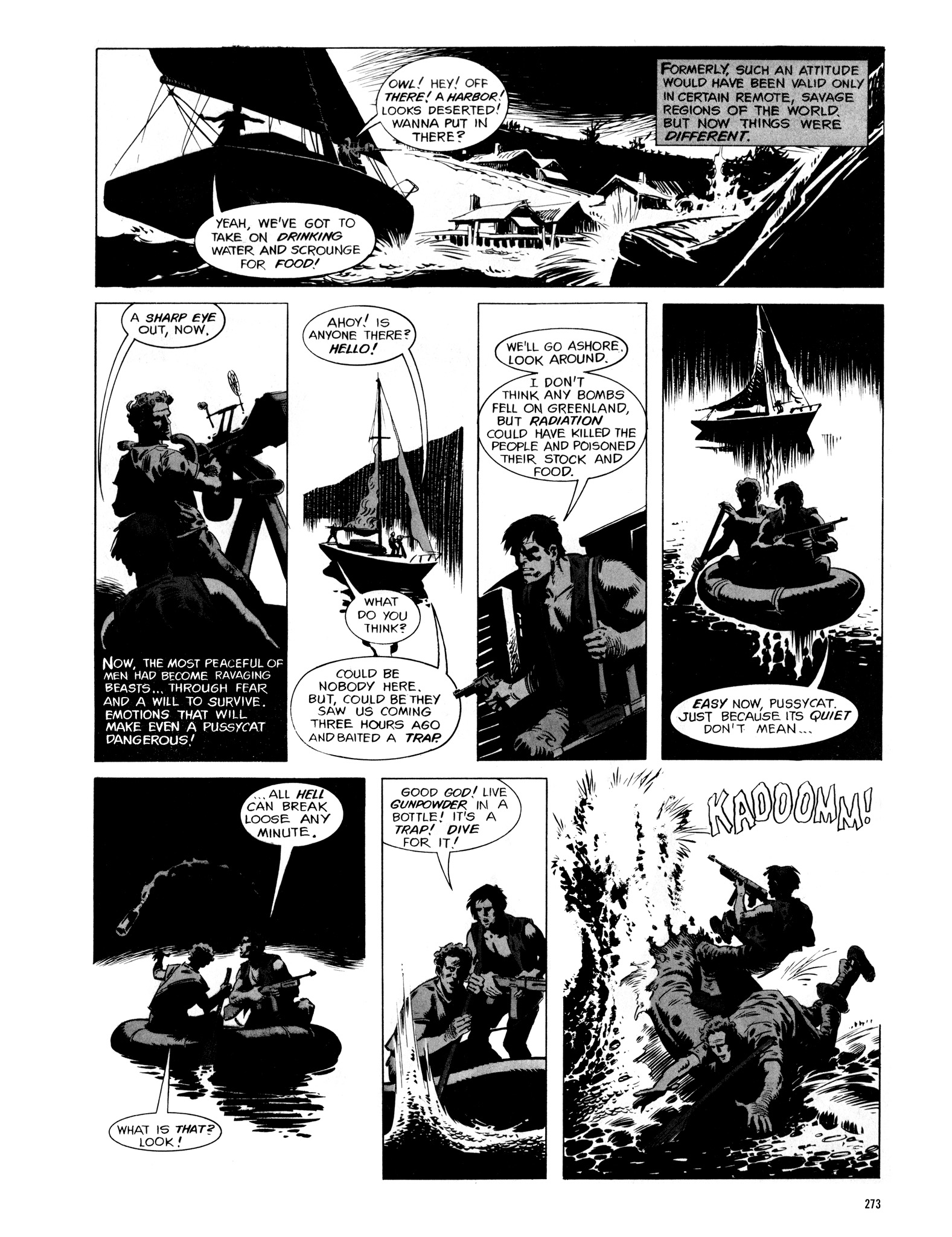 Read online Eerie Archives comic -  Issue # TPB 16 - 274