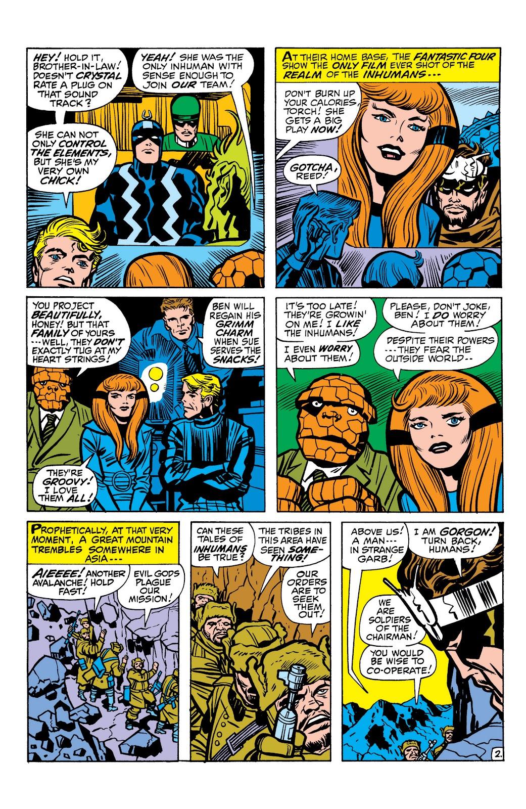 Read online Marvel Masterworks: The Inhumans comic -  Issue # TPB 1 (Part 1) - 71