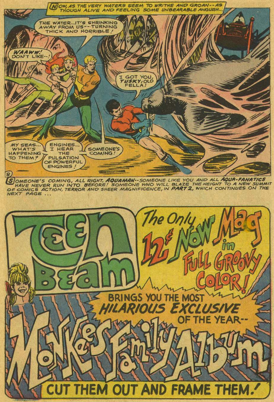 Read online Aquaman (1962) comic -  Issue #37 - 11