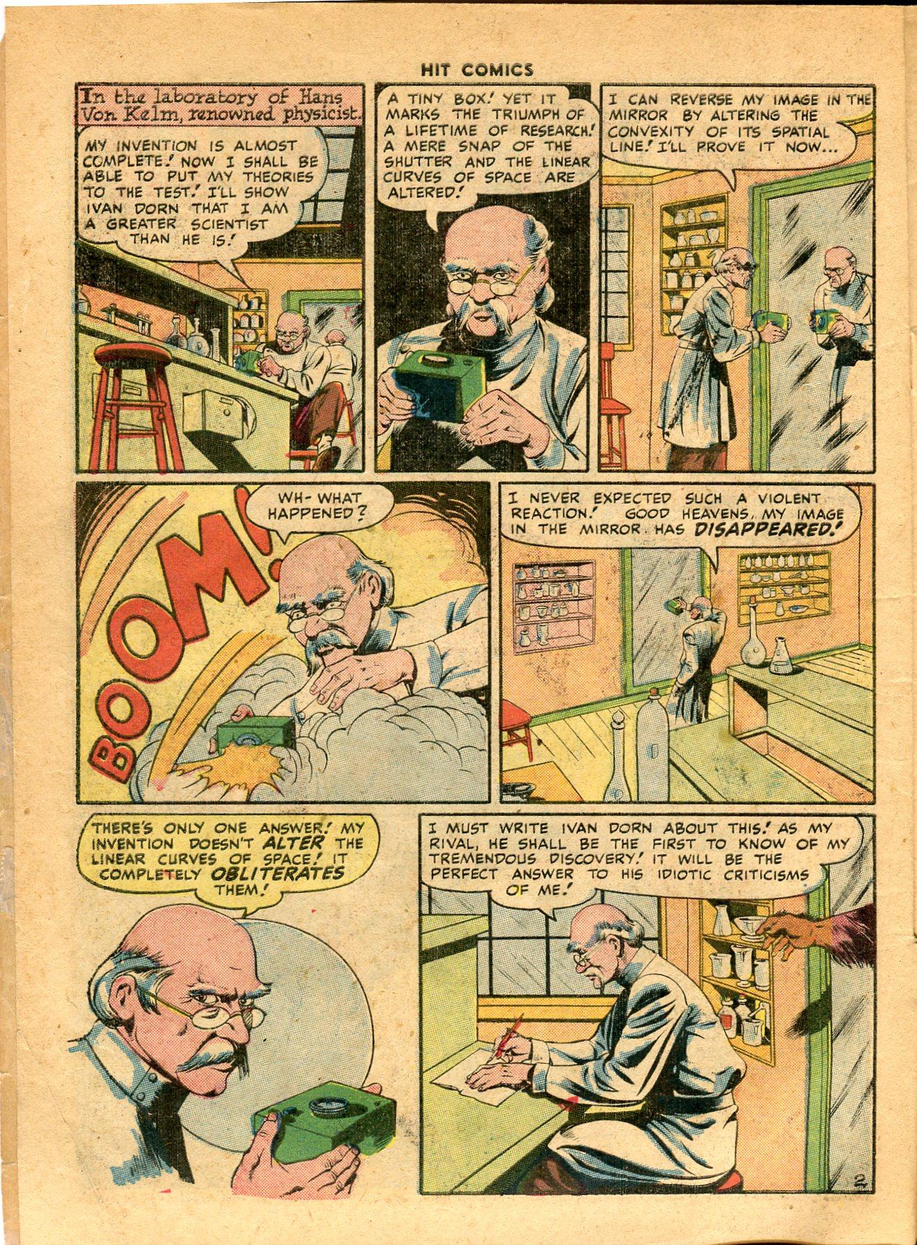 Read online Hit Comics comic -  Issue #49 - 4