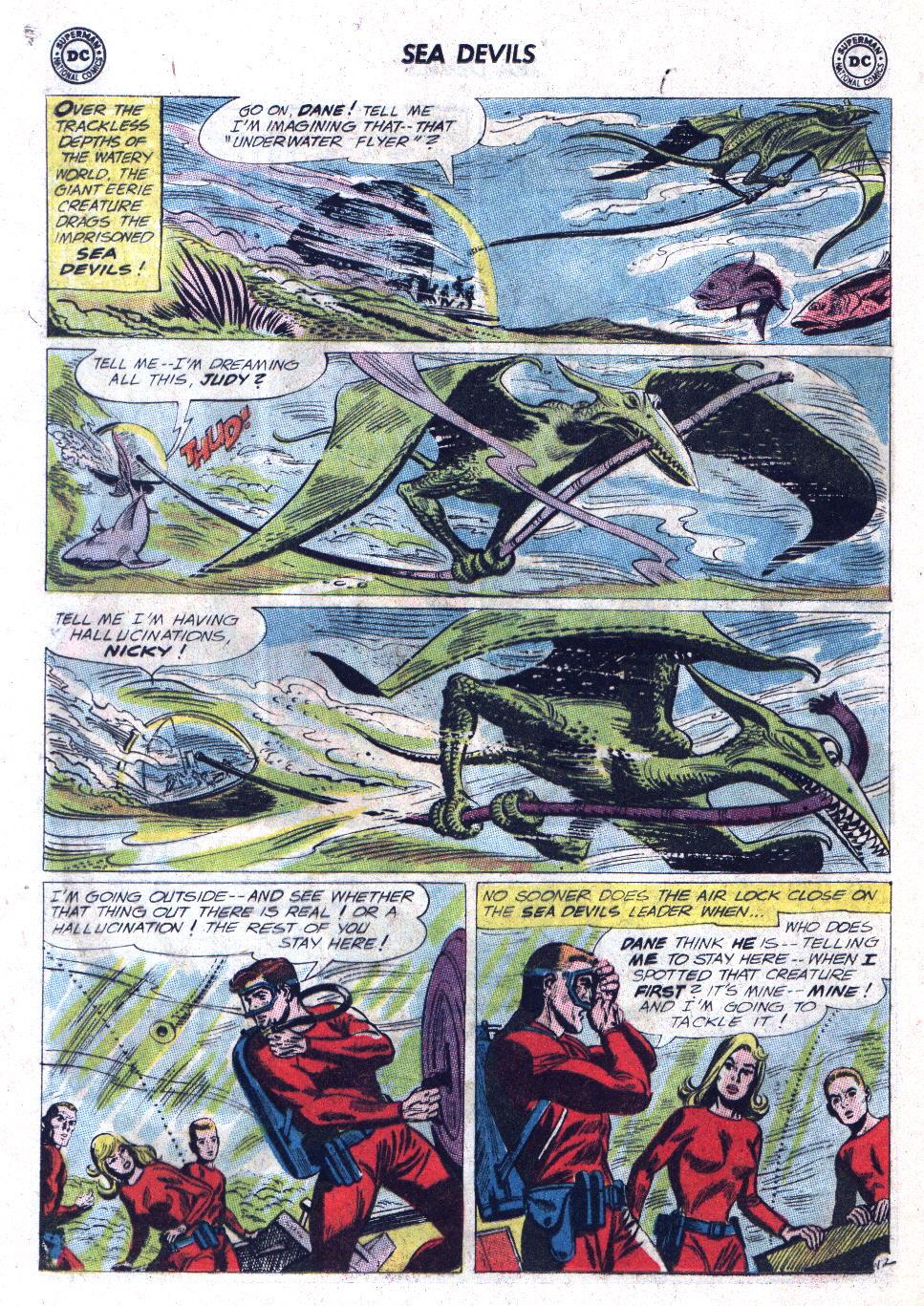 Read online Sea Devils comic -  Issue #11 - 16