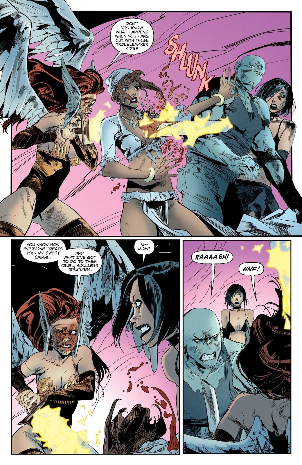 Read online Hack/Slash vs. Chaos comic -  Issue #4 - 11