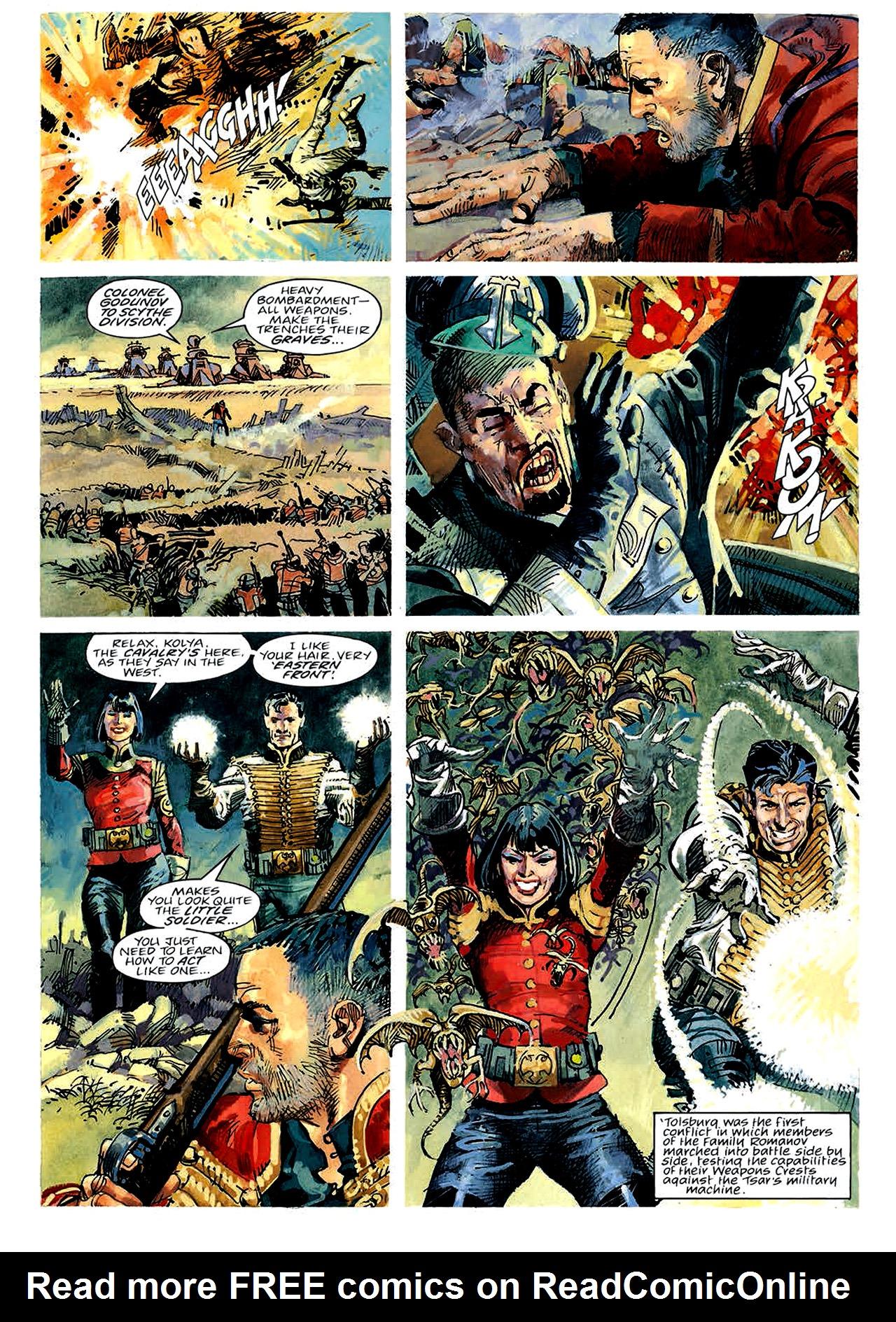 Read online Nikolai Dante comic -  Issue # TPB 4 - 14