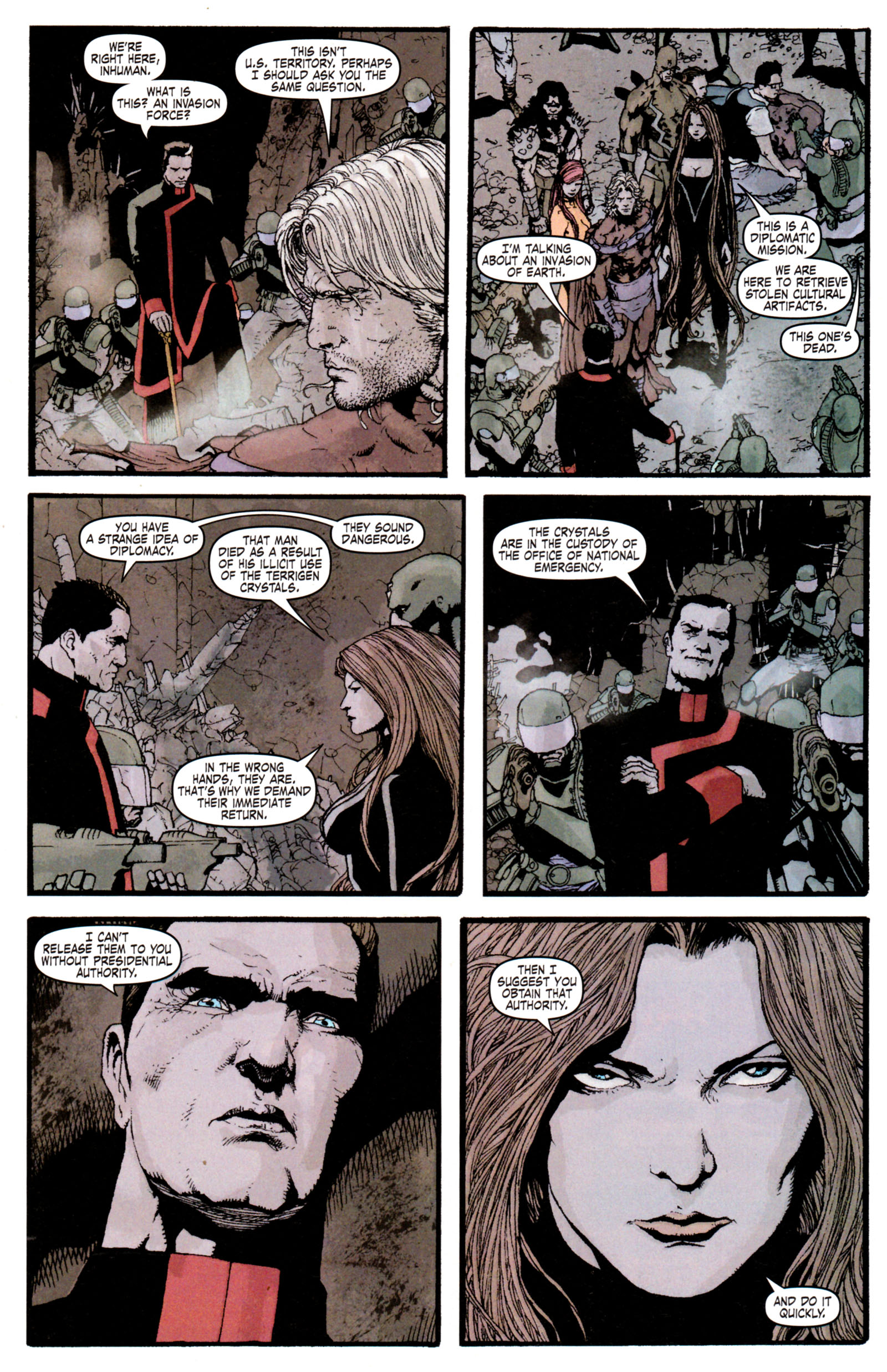 Read online Son of M comic -  Issue #6 - 14