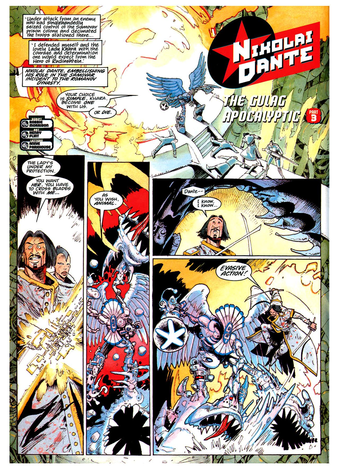 Read online Nikolai Dante comic -  Issue # TPB 1 - 166