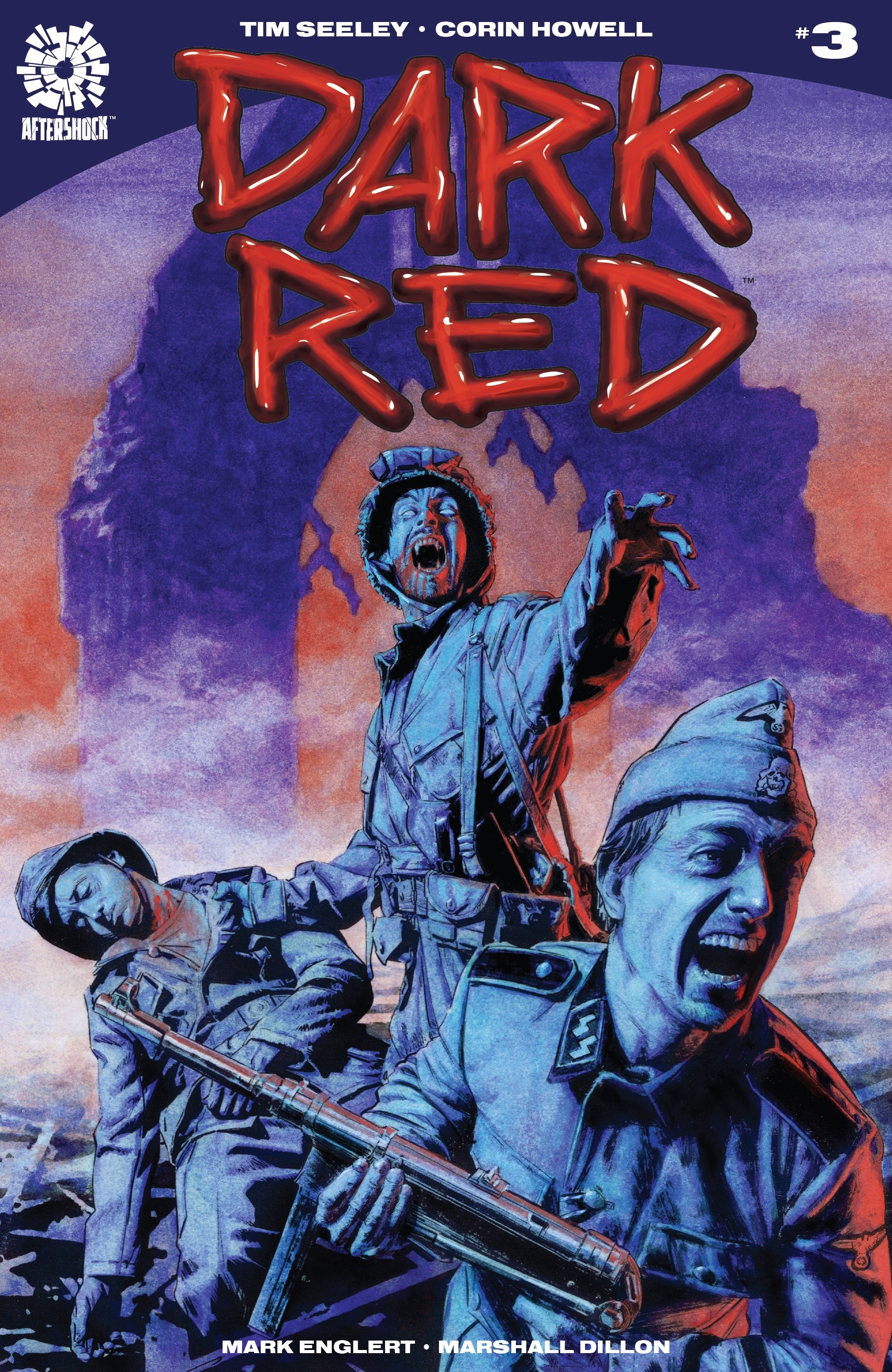 Read online Dark Red comic -  Issue #3 - 1