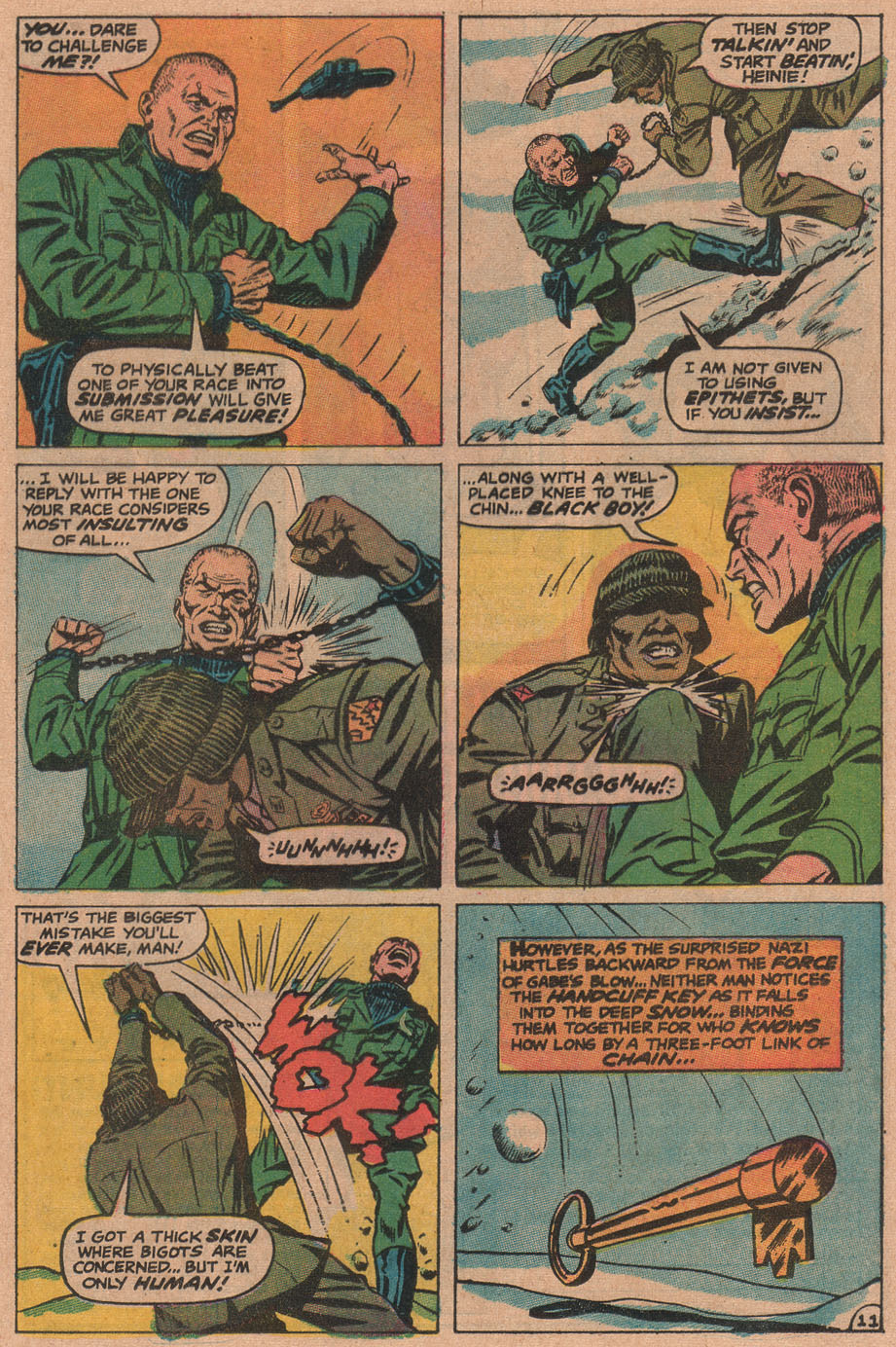 Read online Sgt. Fury comic -  Issue #90 - 17