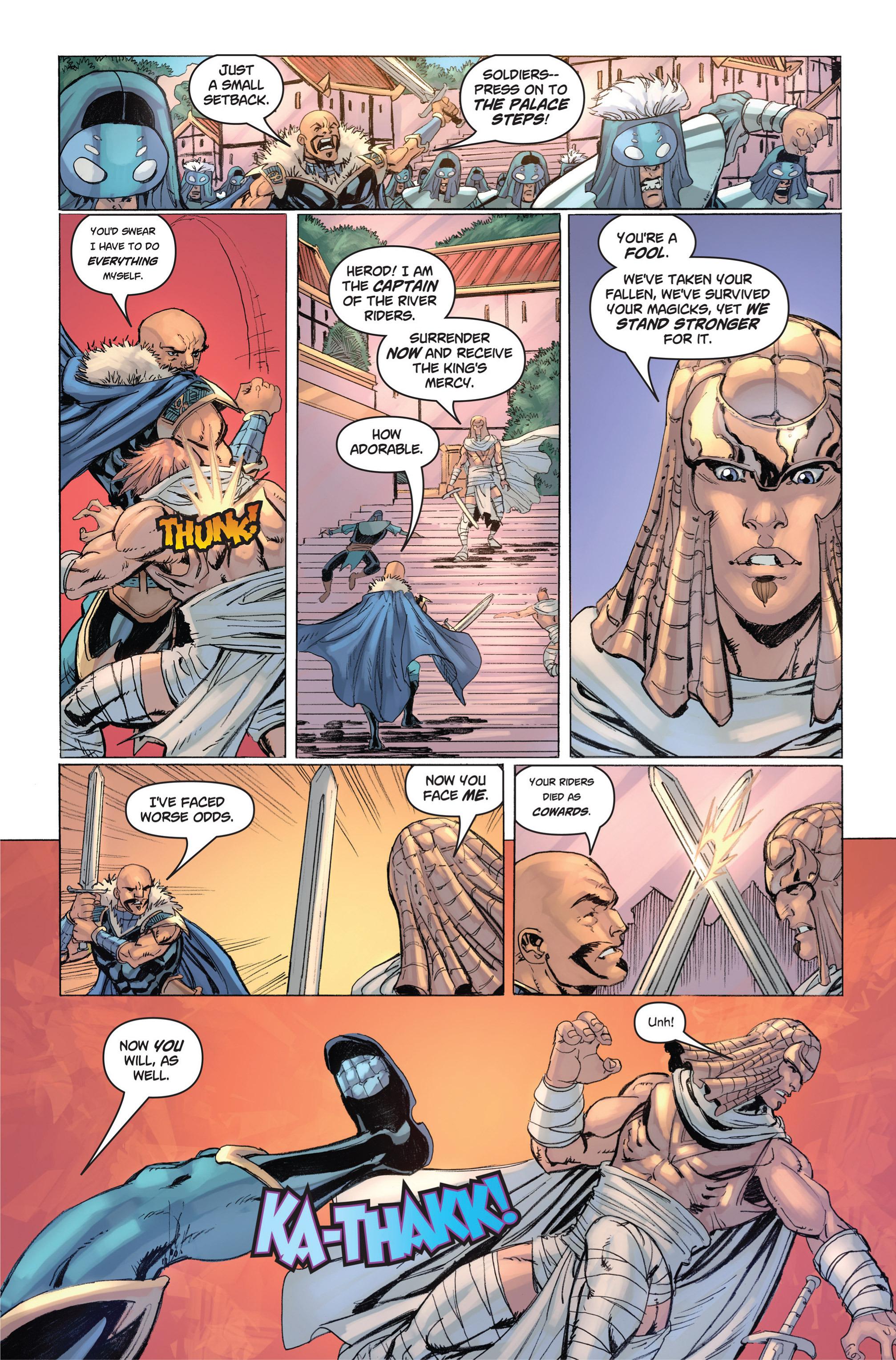 Read online Skyward comic -  Issue #9 - 16