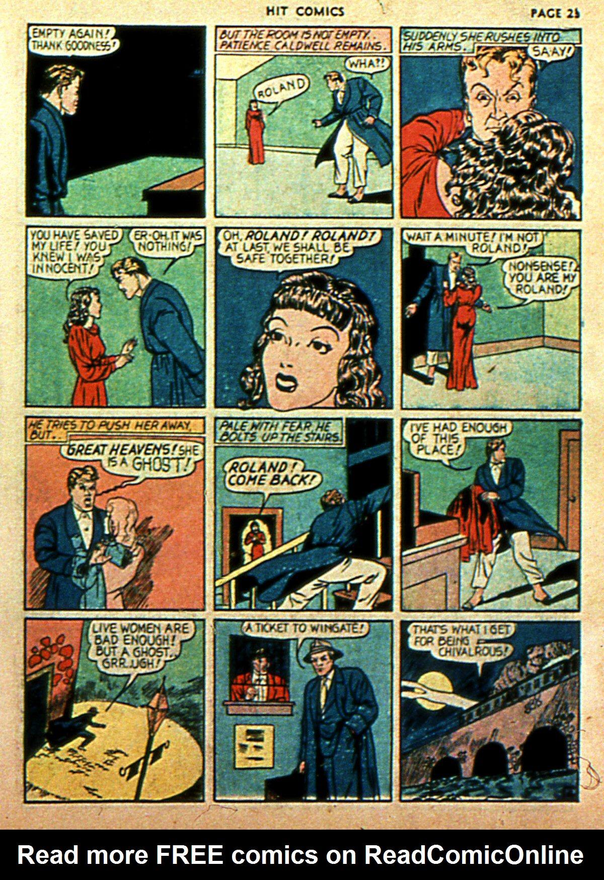 Read online Hit Comics comic -  Issue #2 - 25