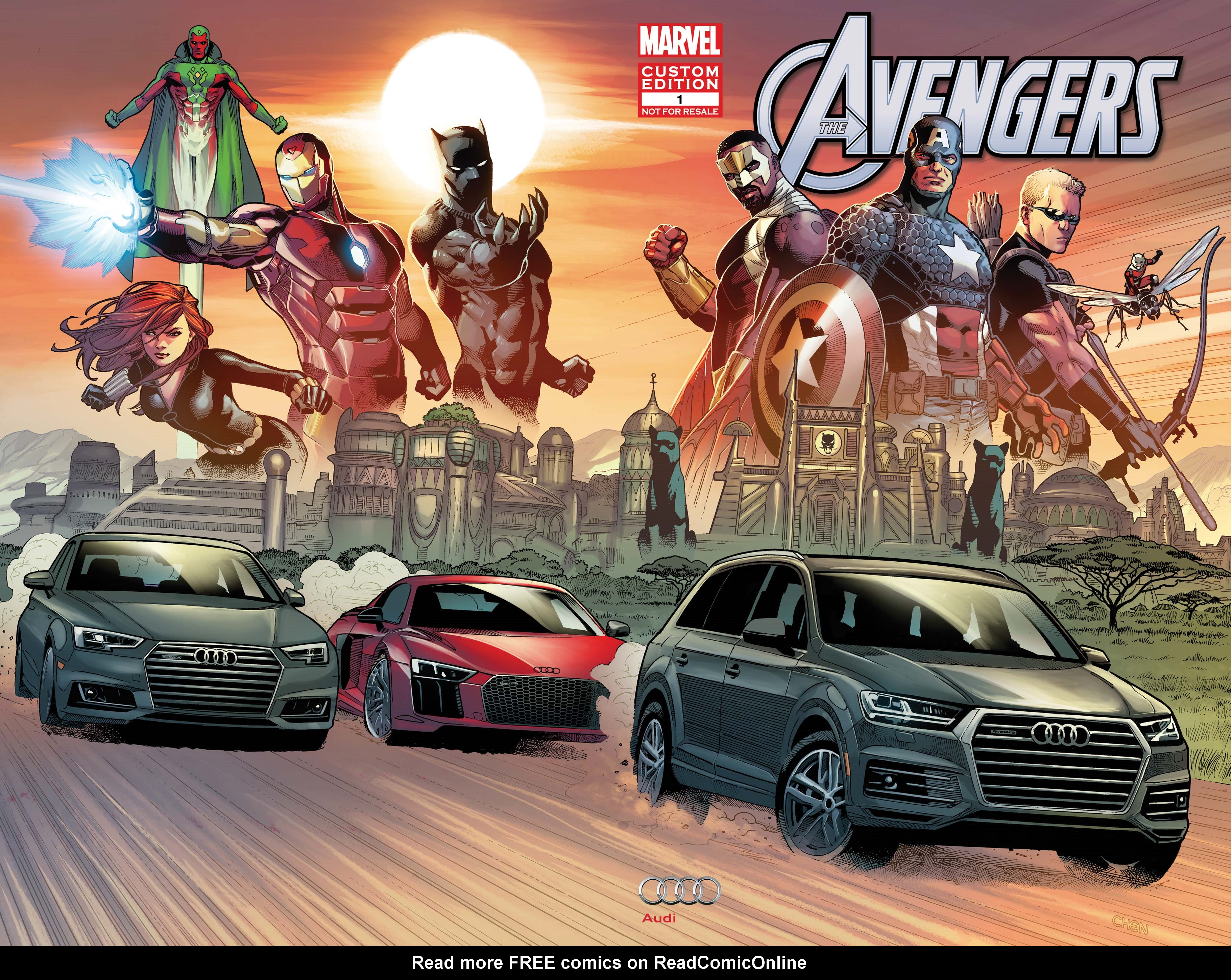 Read online Avengers: King of the Road comic -  Issue # Full - 1