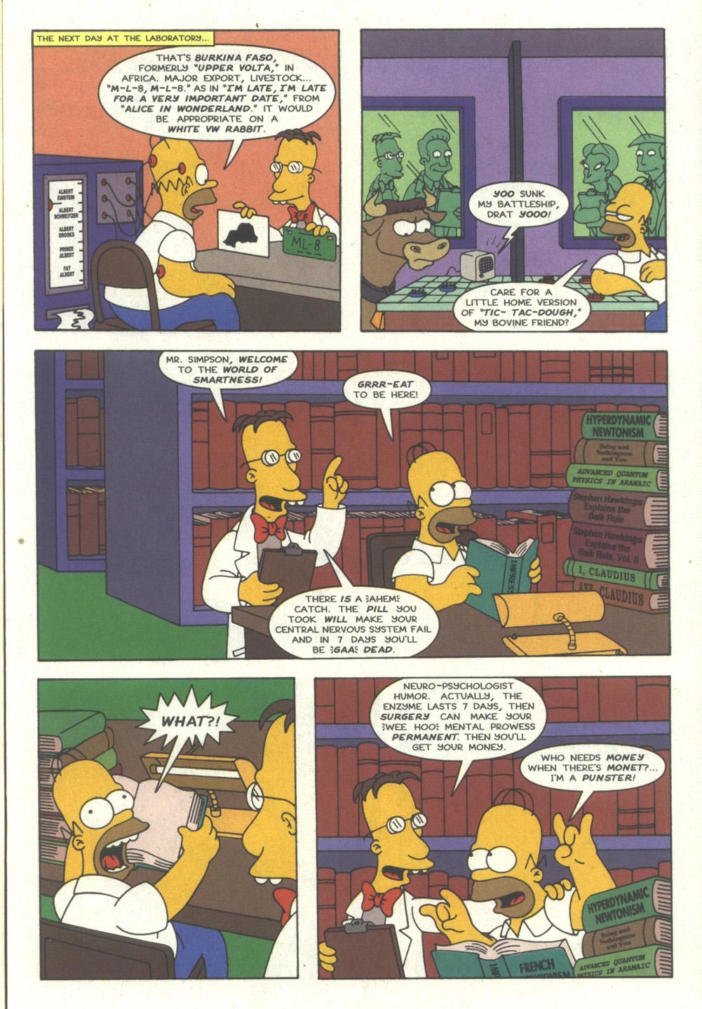 Read online Simpsons Comics comic -  Issue #27 - 12