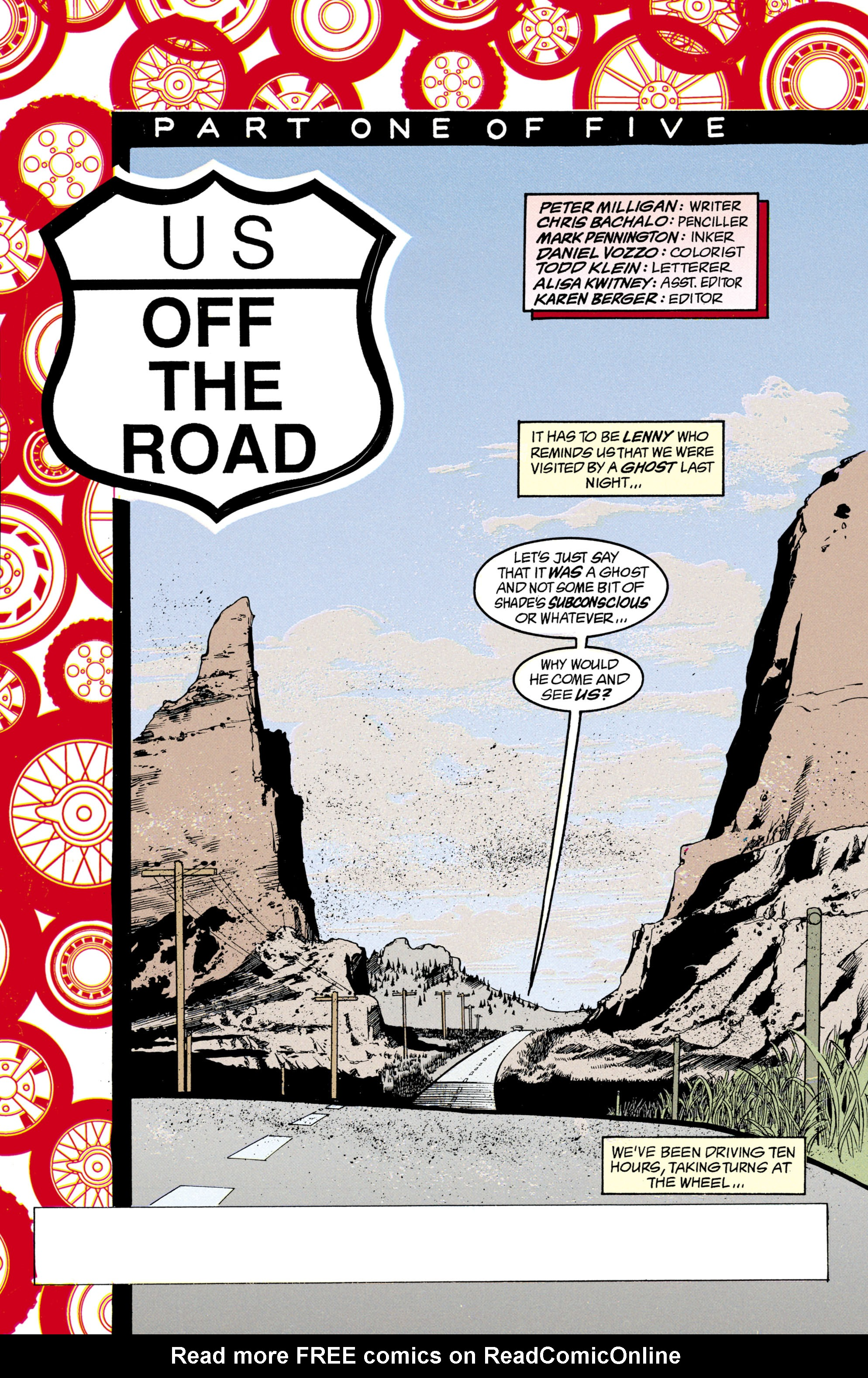 Read online Shade, the Changing Man comic -  Issue #21 - 2