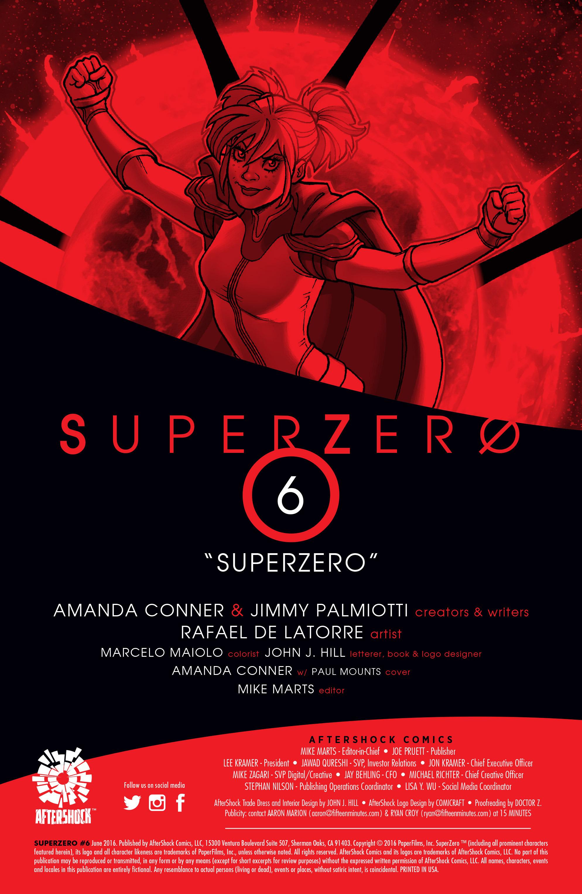 SuperZero #6 #6 - English 2