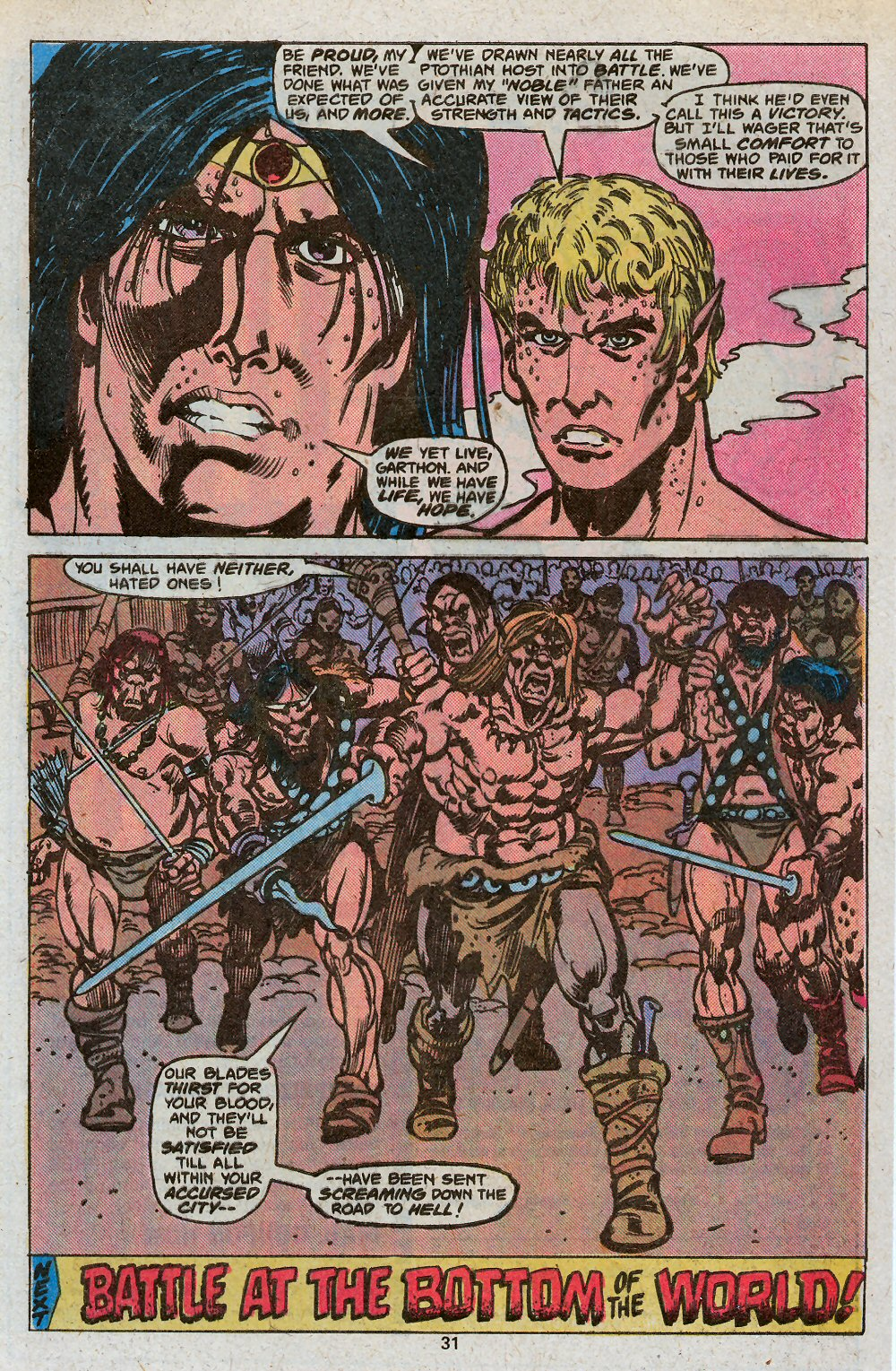 John Carter Warlord of Mars issue 19 - Page 33