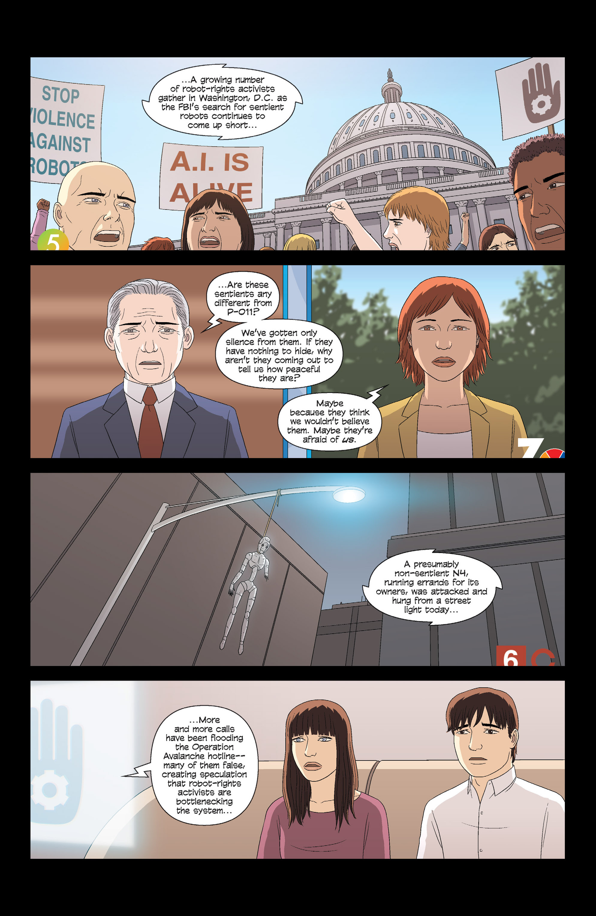 Read online Alex   Ada comic -  Issue #13 - 8