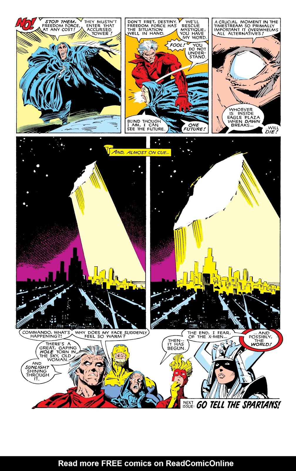 Read online X-Men Milestones: Fall of the Mutants comic -  Issue # TPB (Part 1) - 26