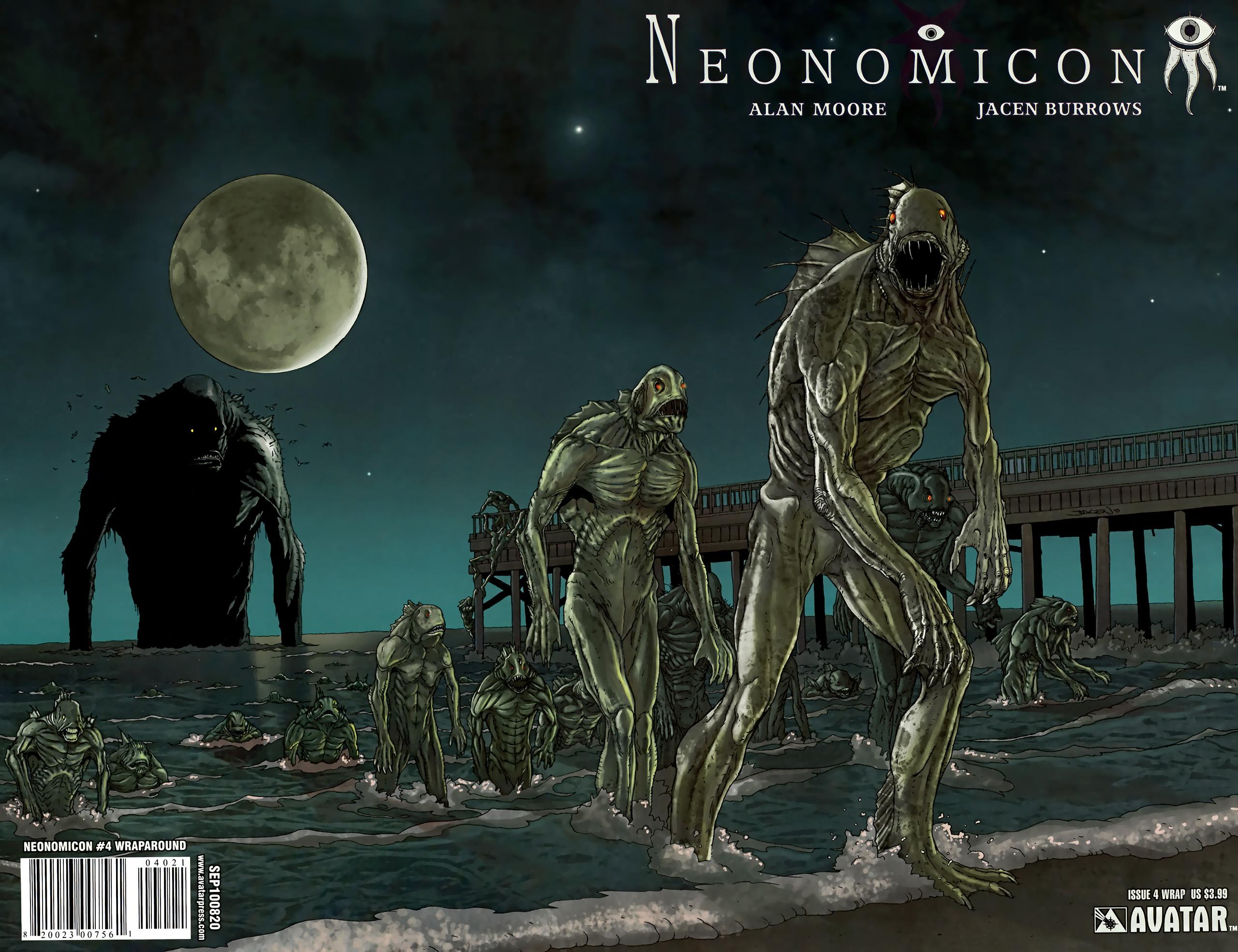 Read online Alan Moore's Neonomicon comic -  Issue #4 - 1
