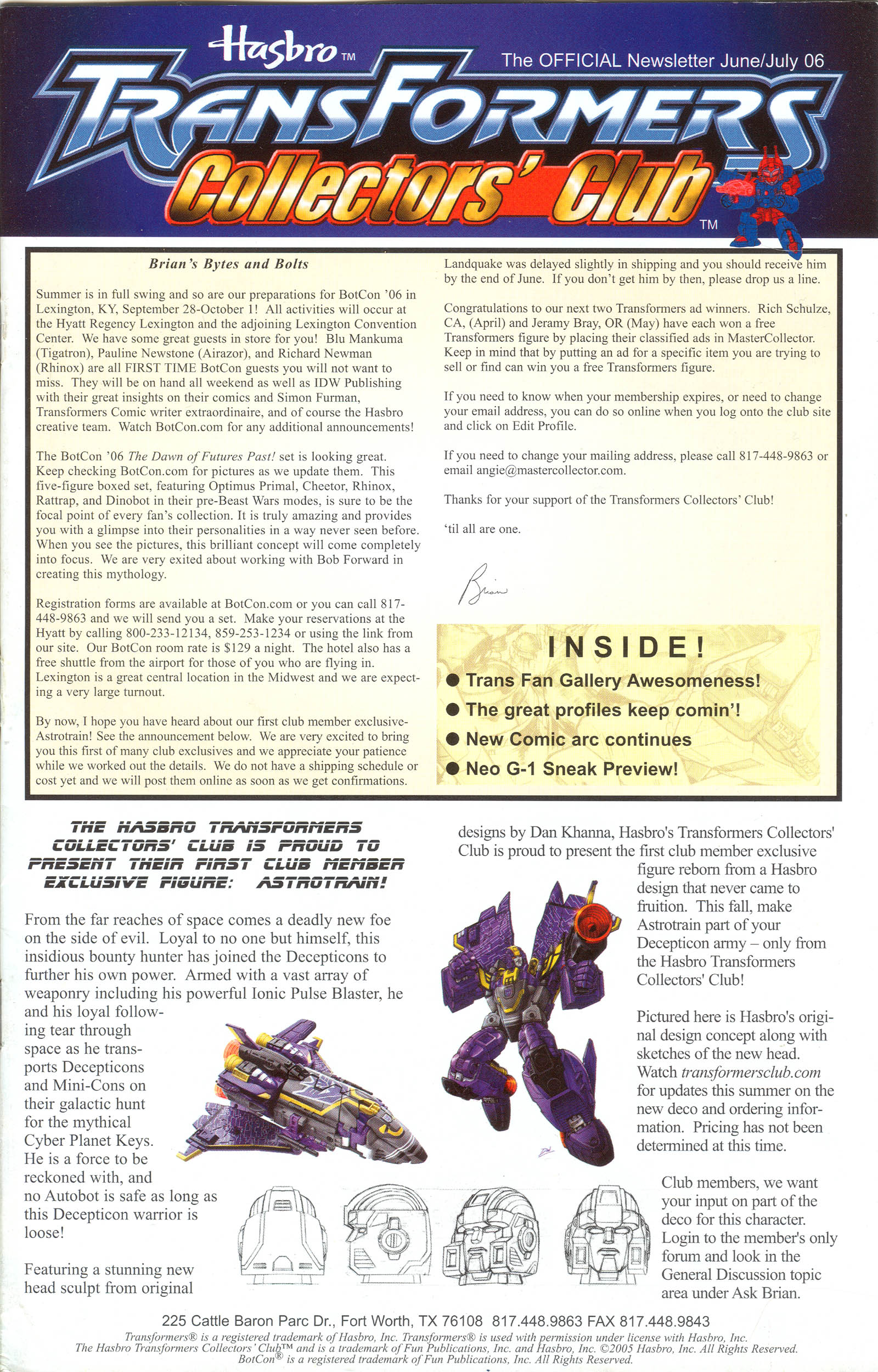 Read online Transformers: Collectors' Club comic -  Issue #9 - 1