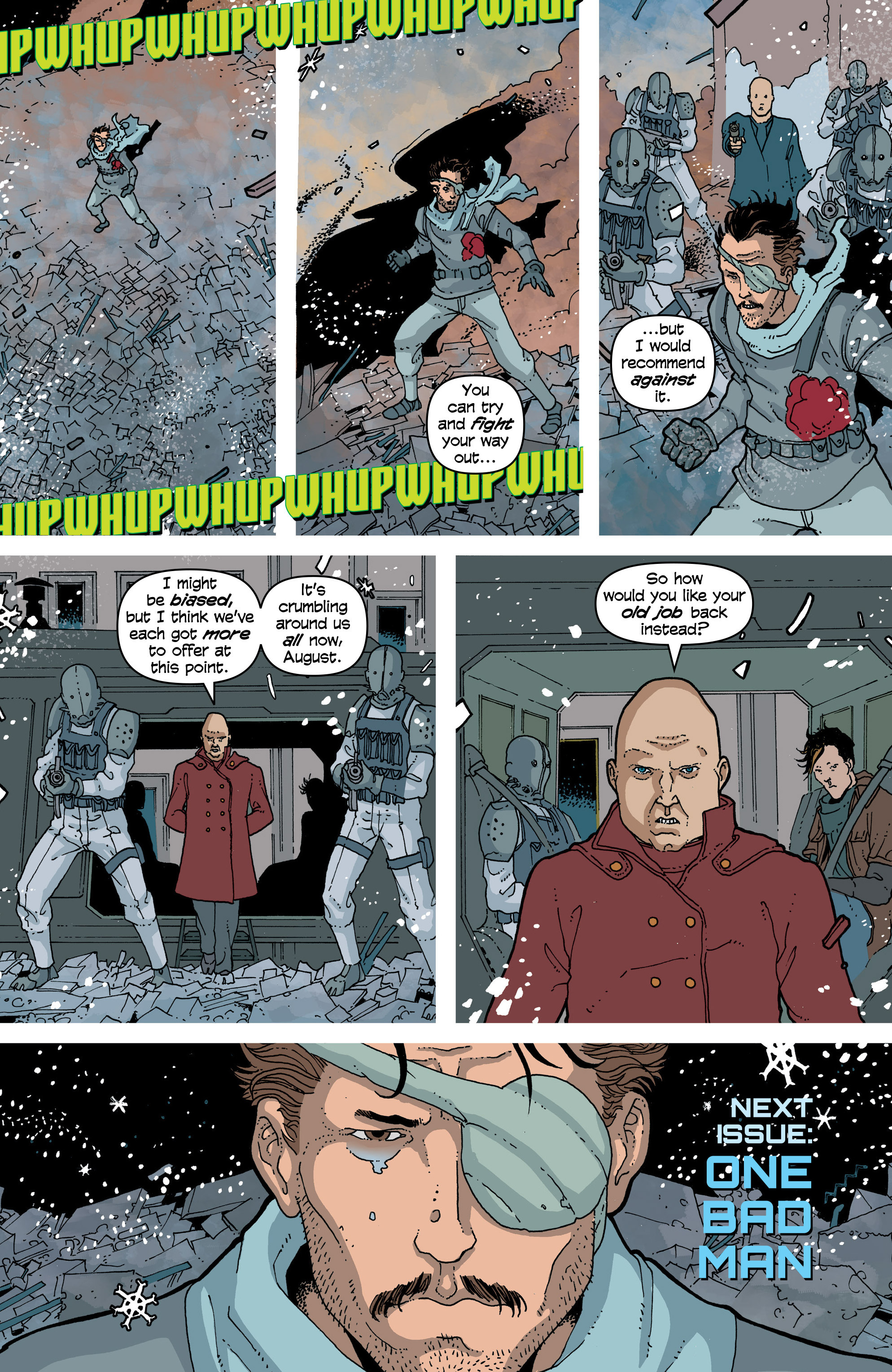 Read online Snowfall comic -  Issue #7 - 24