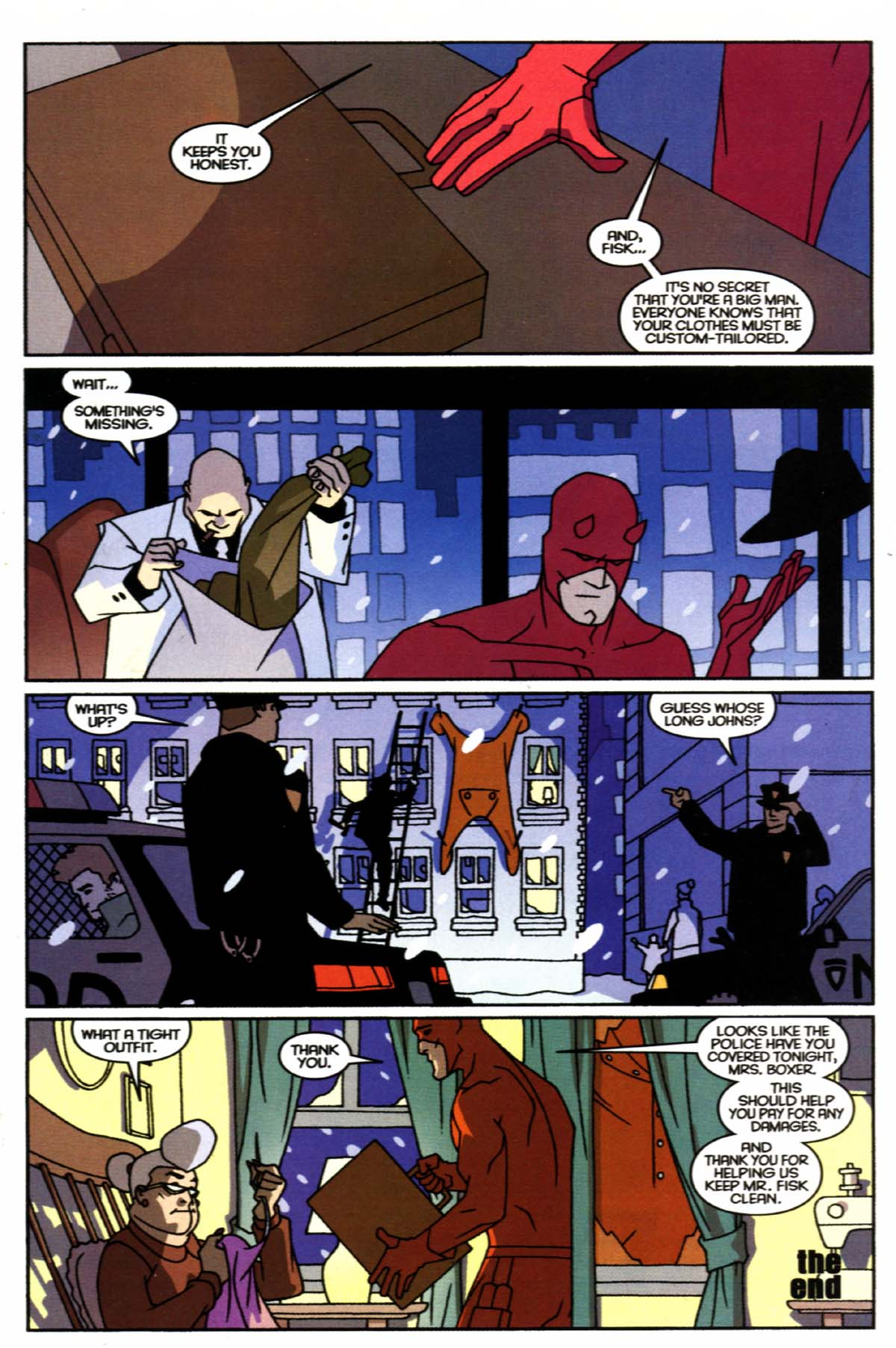 Read online Marvel Knights Double Shot comic -  Issue #1 - 23