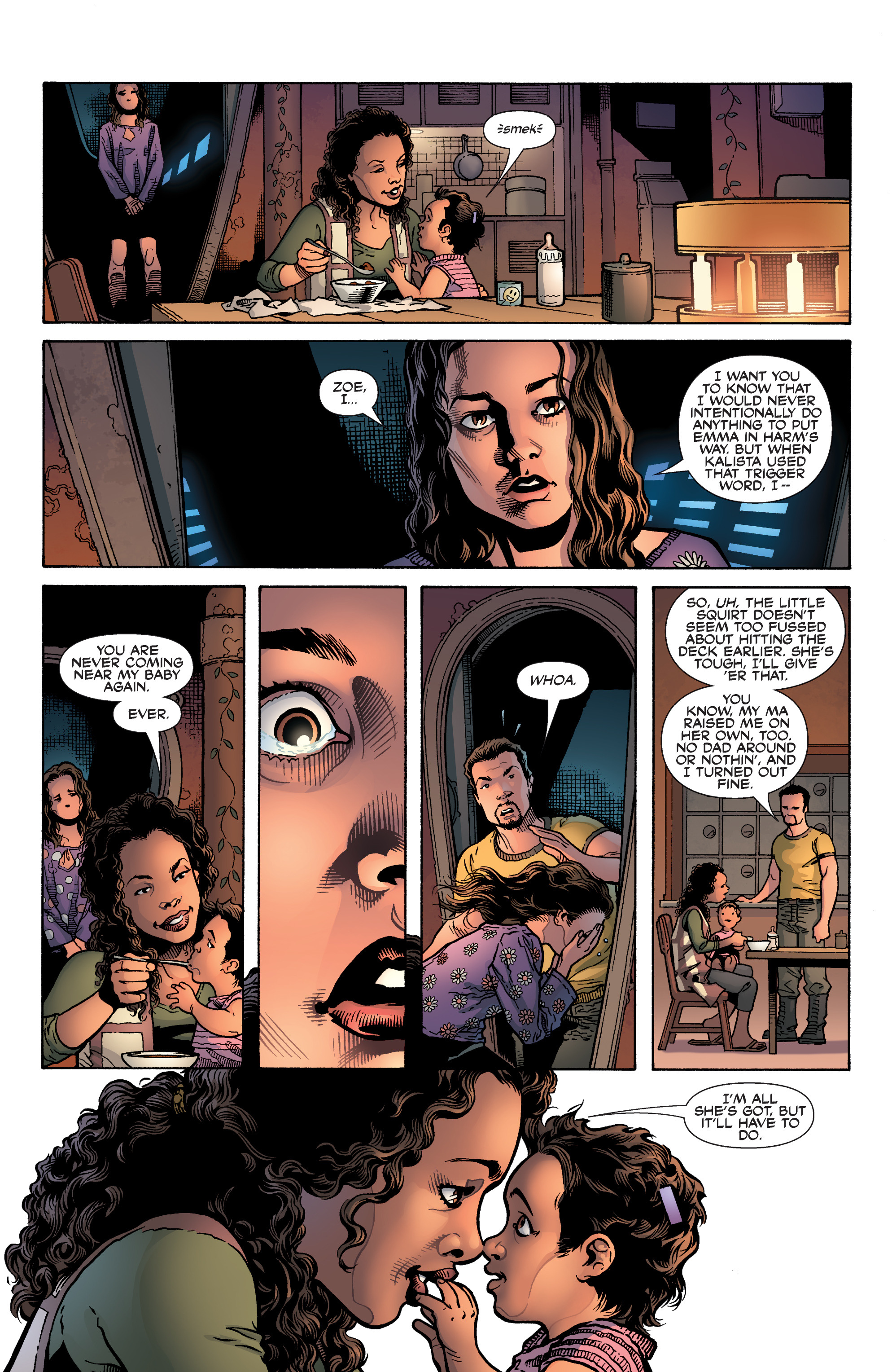 Read online Serenity: Firefly Class 03-K64 – No Power in the 'Verse comic -  Issue #6 - 22