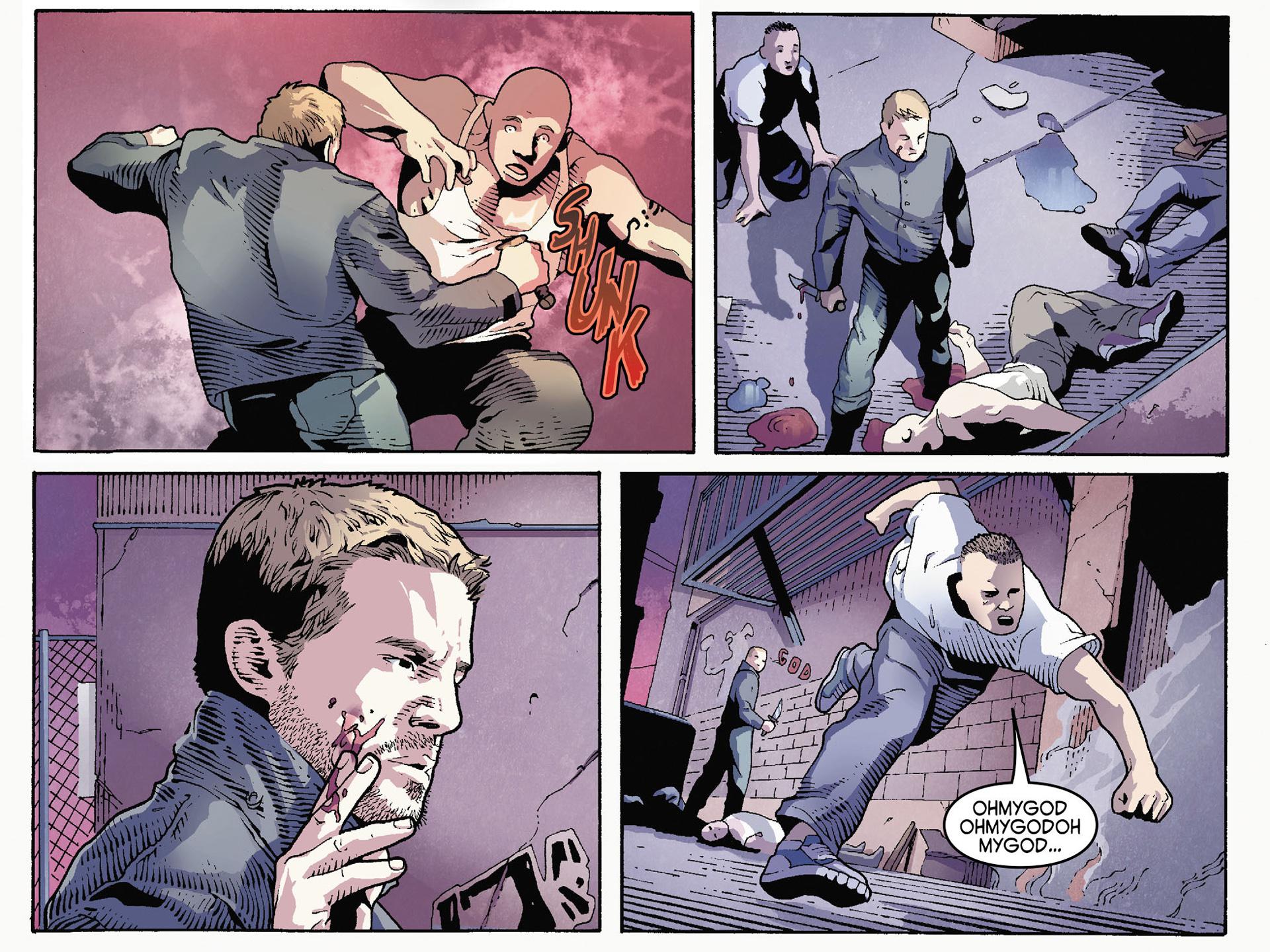 Read online Arrow [II] comic -  Issue #35 - 12