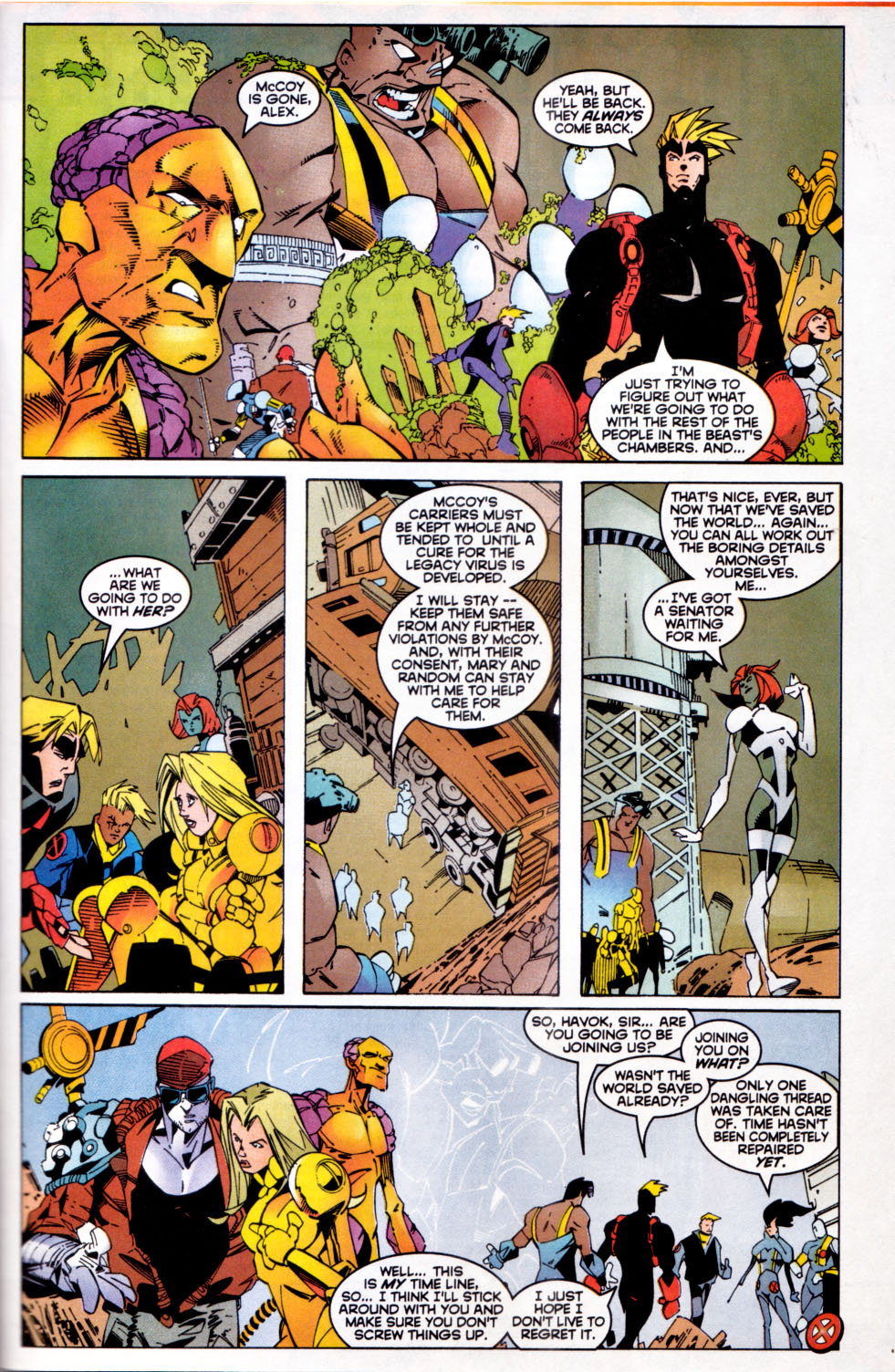 Read online X-Factor (1986) comic -  Issue #144 - 22