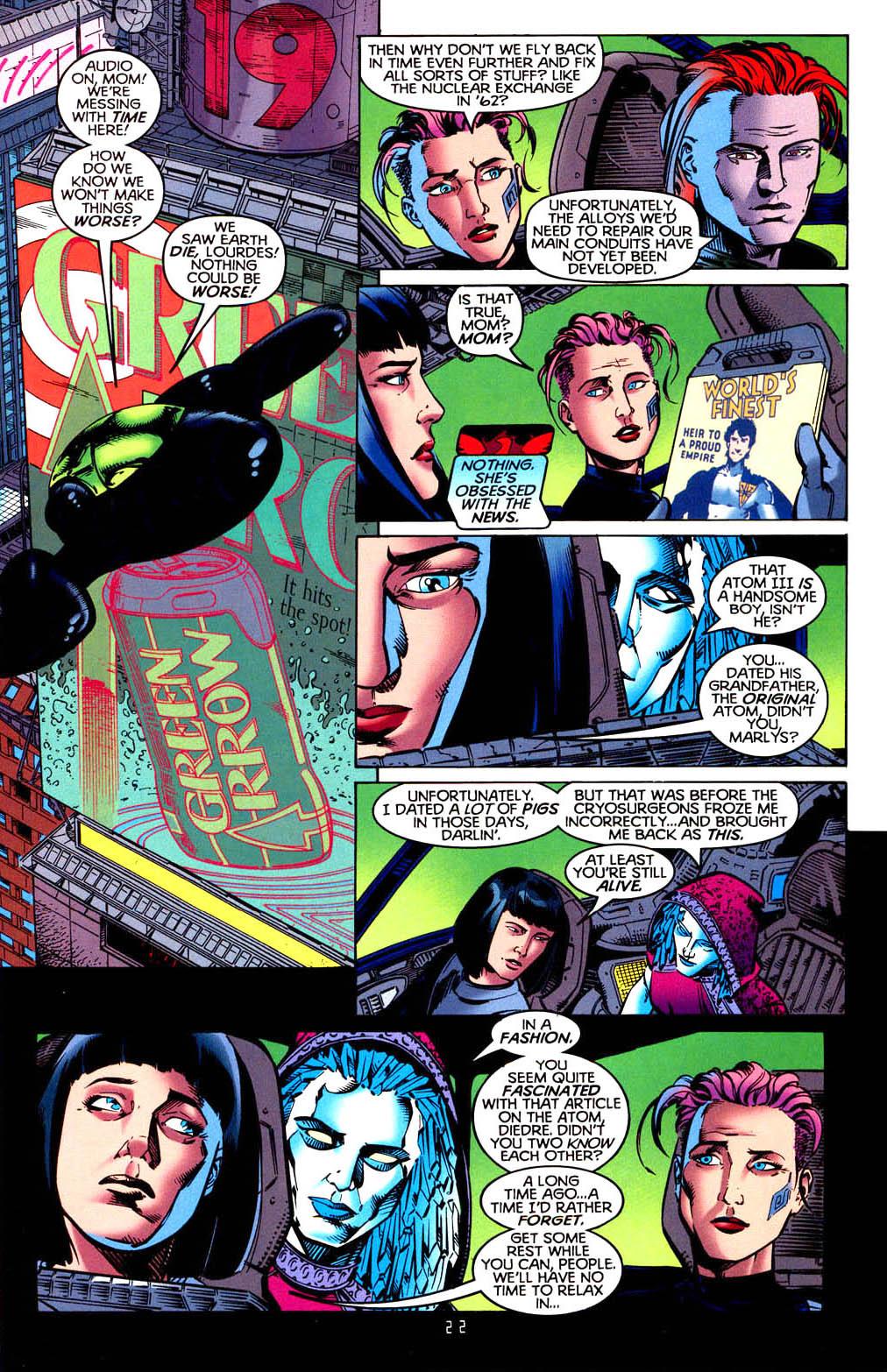 Read online Tangent Comics/ Doom Patrol comic -  Issue # Full - 23
