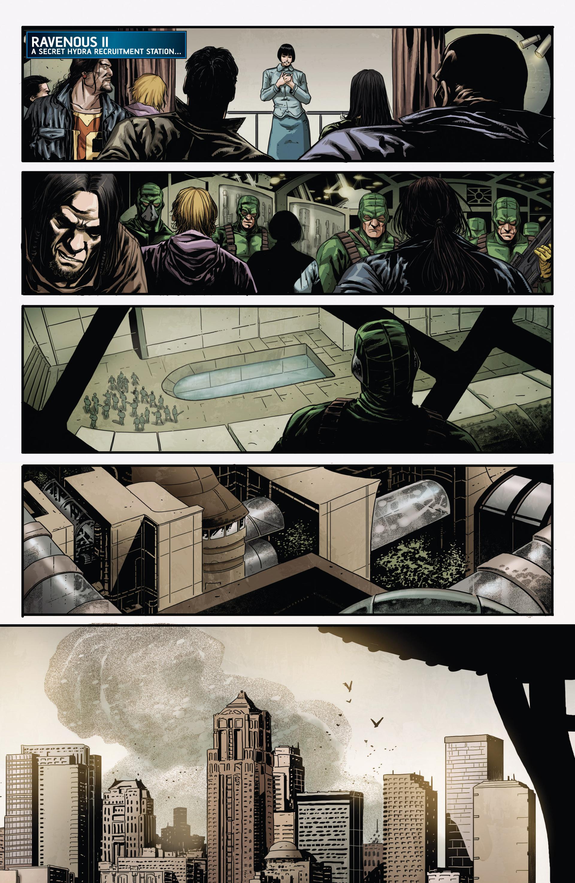 Read online Secret Warriors comic -  Issue #20 - 5