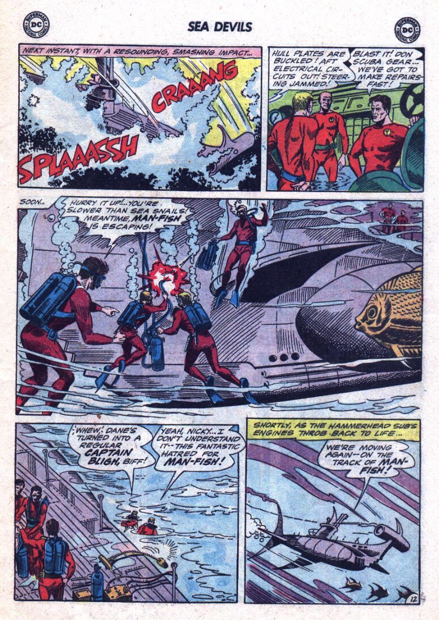 Read online Sea Devils comic -  Issue #24 - 18