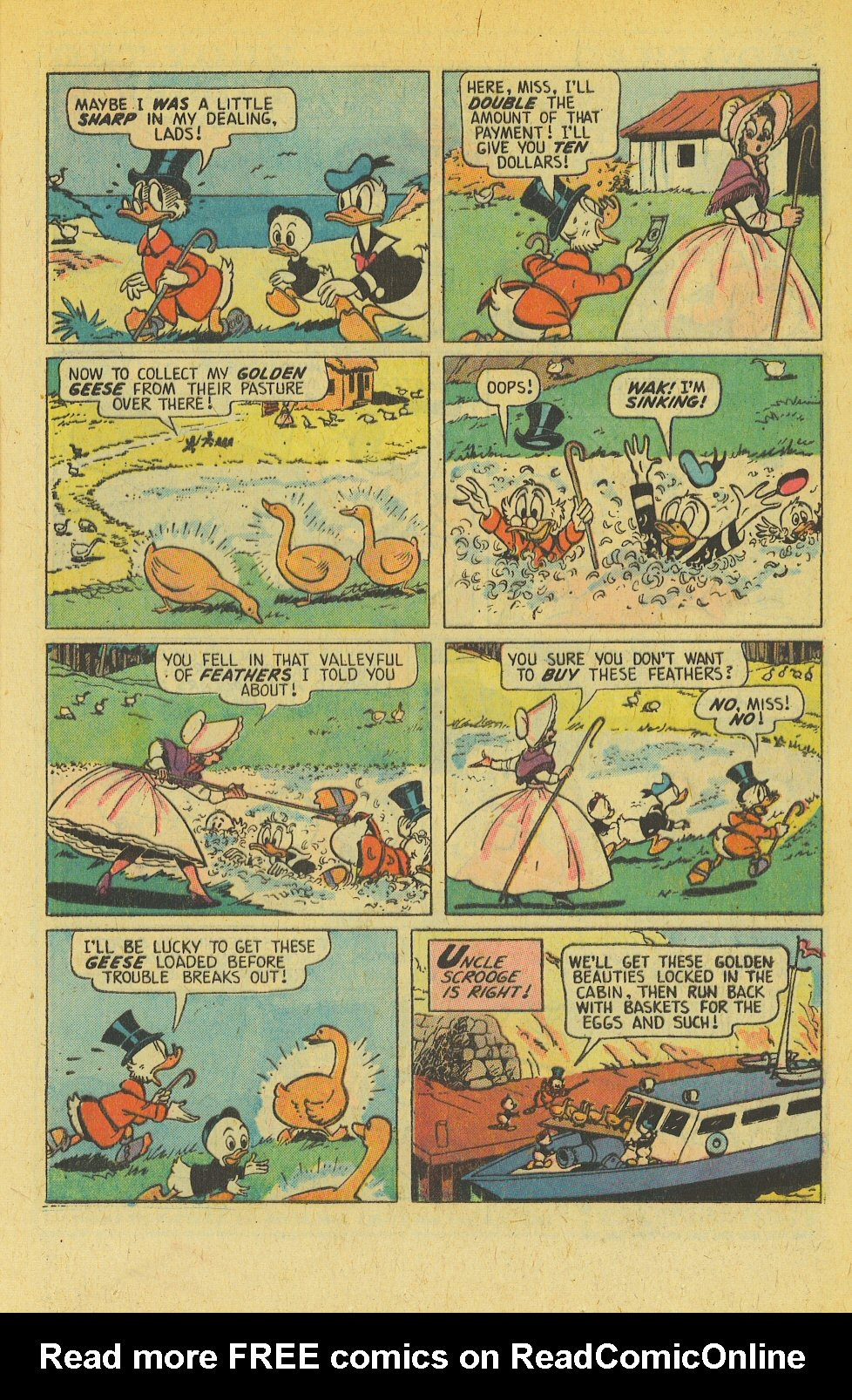 Read online Uncle Scrooge (1953) comic -  Issue #139 - 21