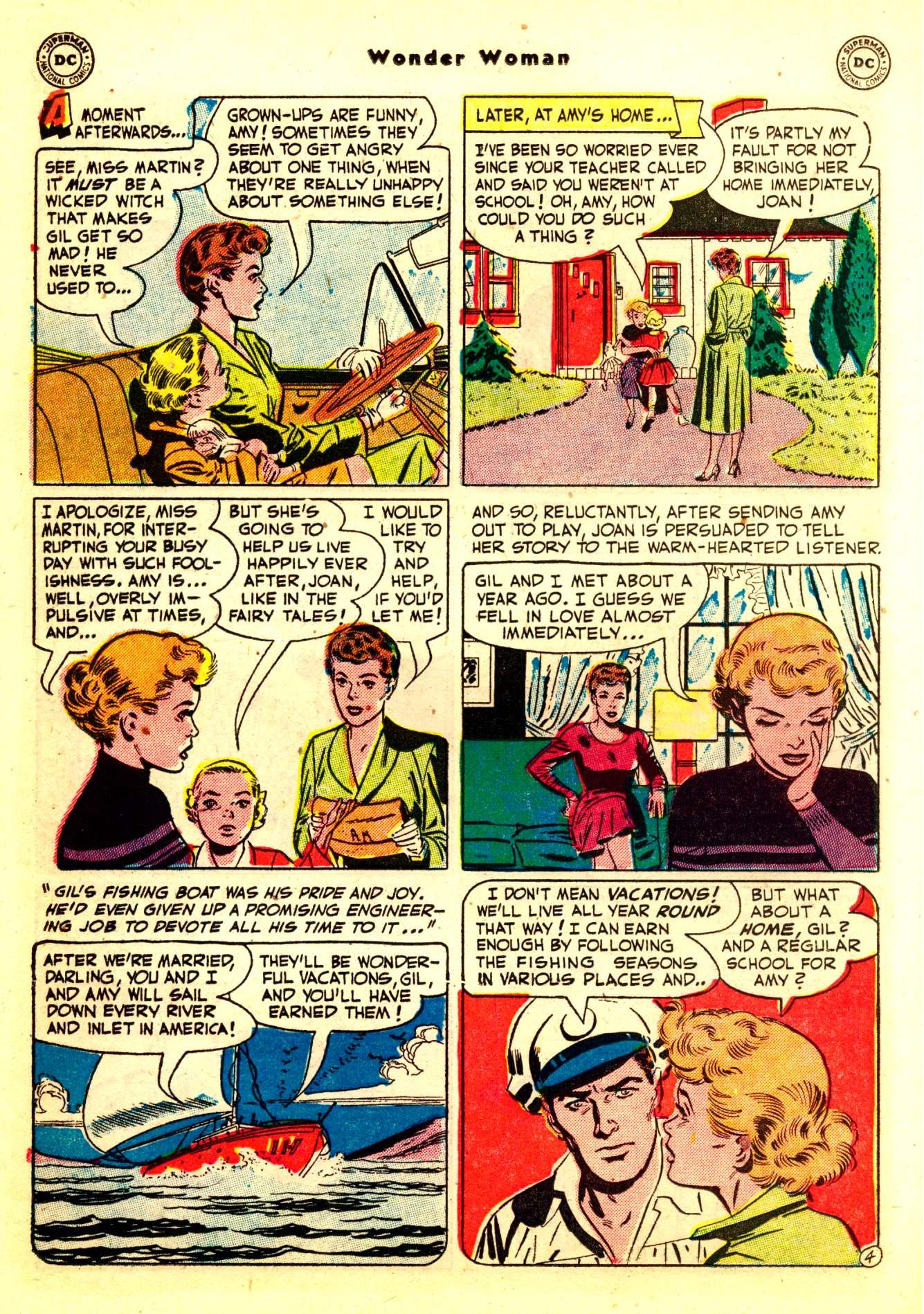 Read online Wonder Woman (1942) comic -  Issue #50 - 20