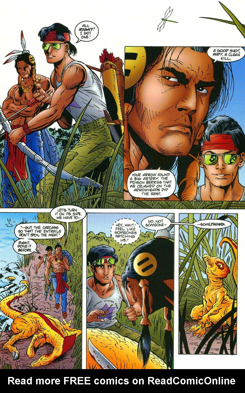 Read online Turok, Dinosaur Hunter (1993) comic -  Issue #45 - 4
