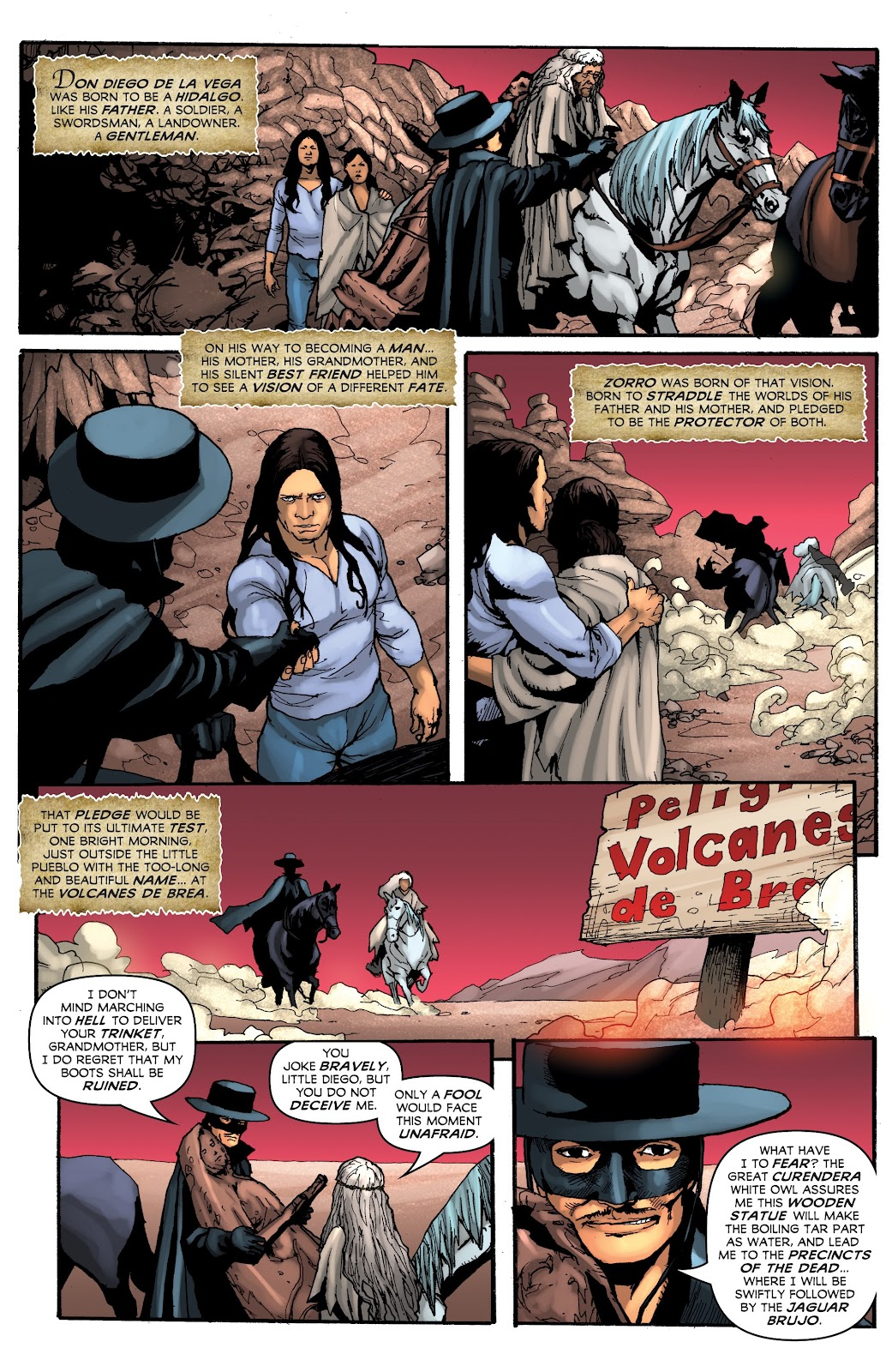Read online Zorro: Swords of Hell comic -  Issue #3 - 21