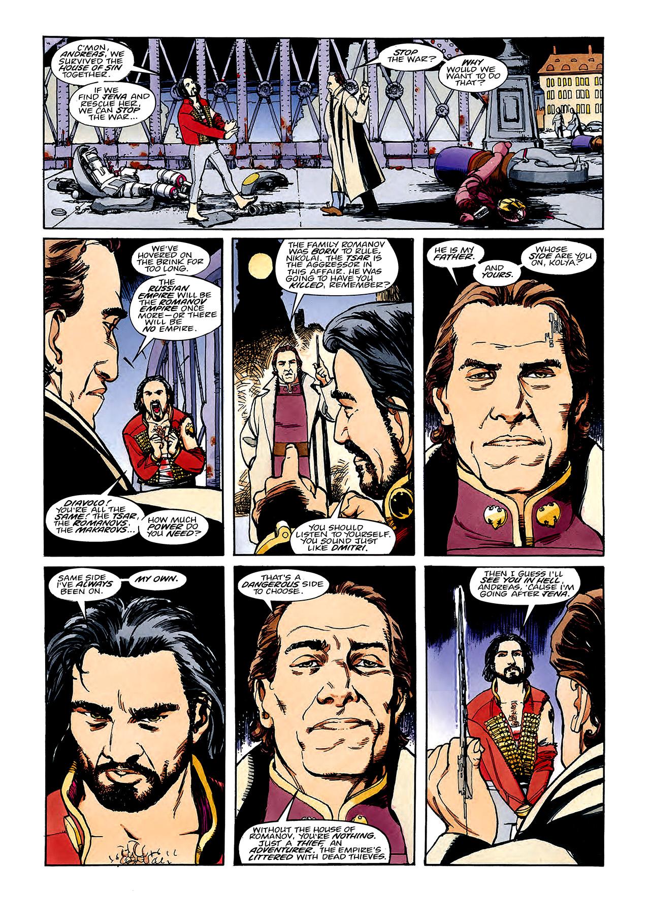 Read online Nikolai Dante comic -  Issue # TPB 3 - 95