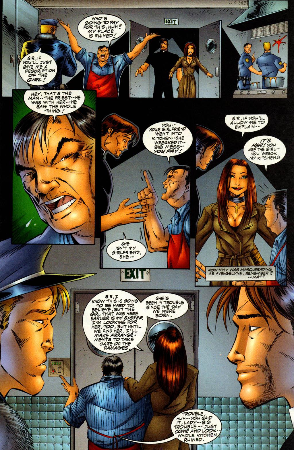 Read online Avengelyne (1996) comic -  Issue #7 - 5
