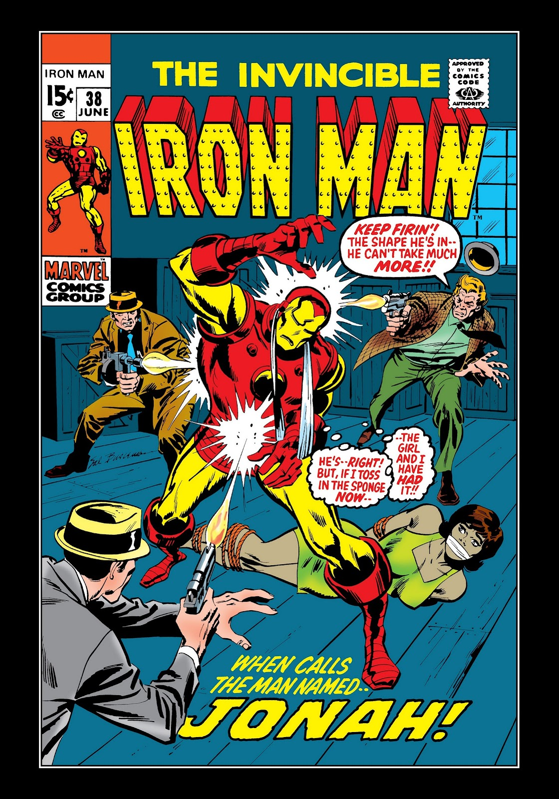 Read online Marvel Masterworks: The Invincible Iron Man comic -  Issue # TPB 7 (Part 3) - 69